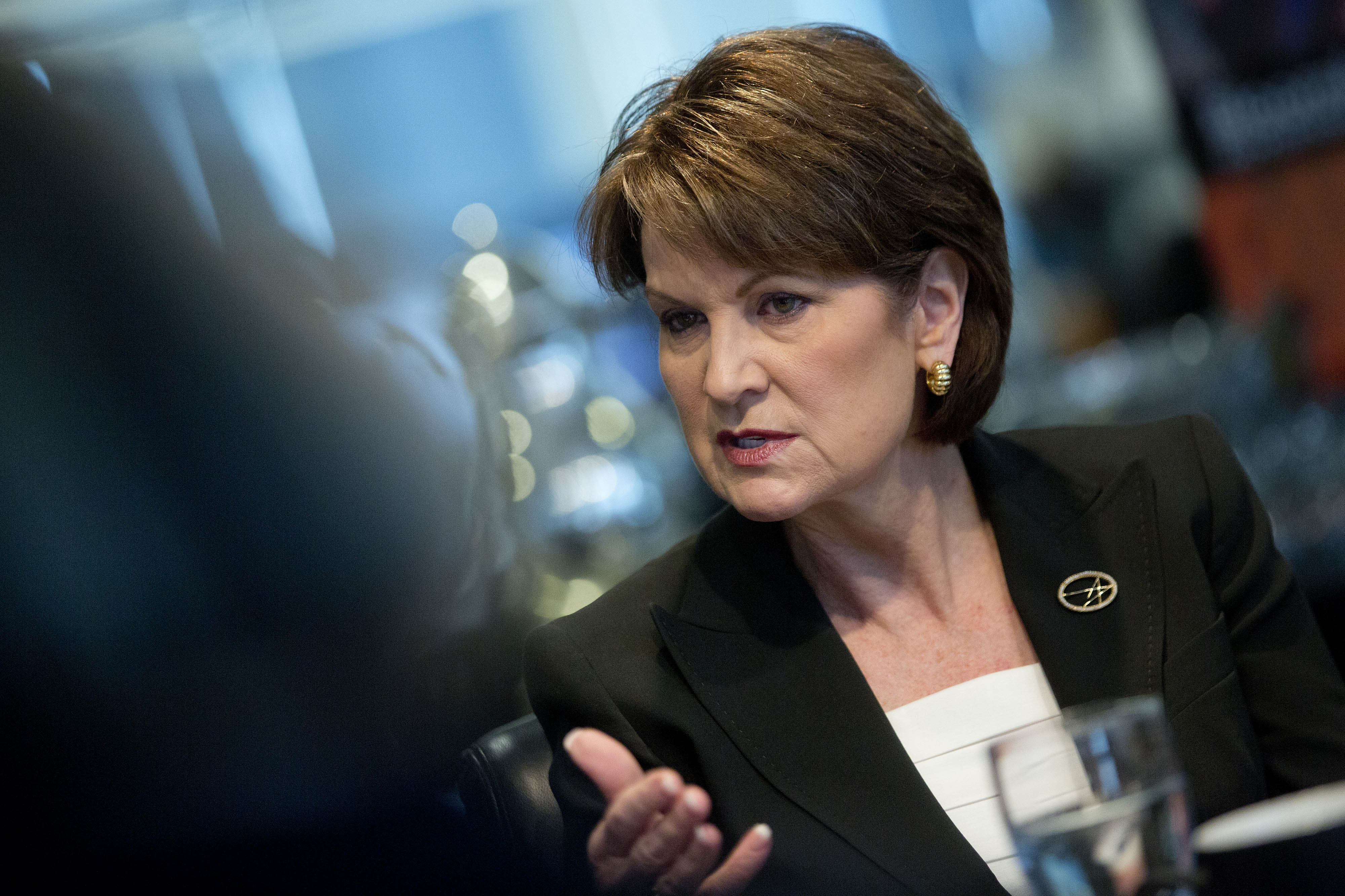 Lockheed Martin President And CEO Marillyn Hewson Interview