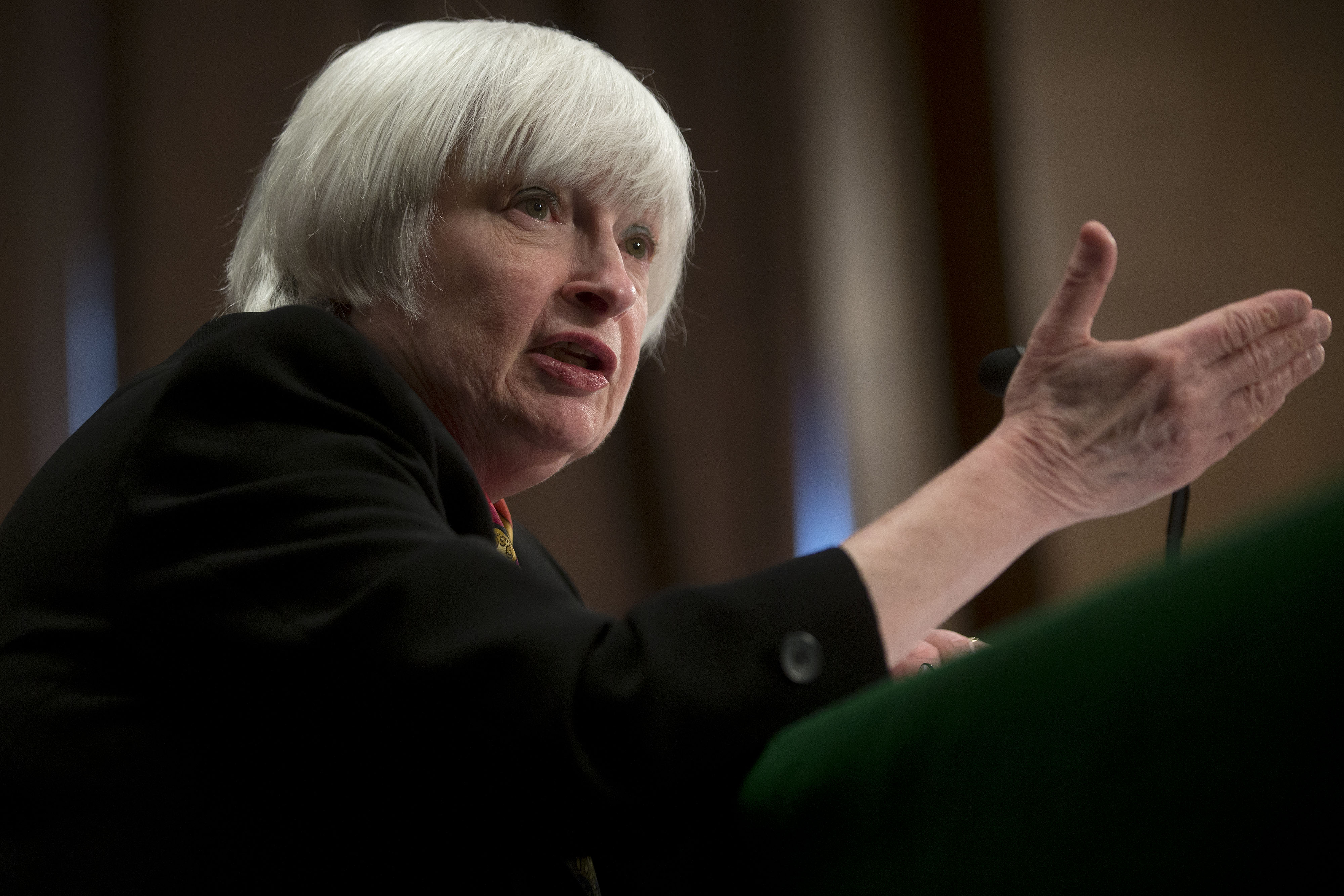 Fed Chair Janet Yellen Monetary Policy Report To The Senate Banking Committee