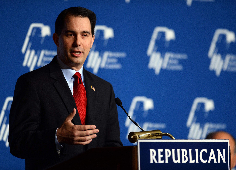 NJ Gov. Chris Christie Speaks At Republican Jewish Coalition Leadership Meeting In Vegas
