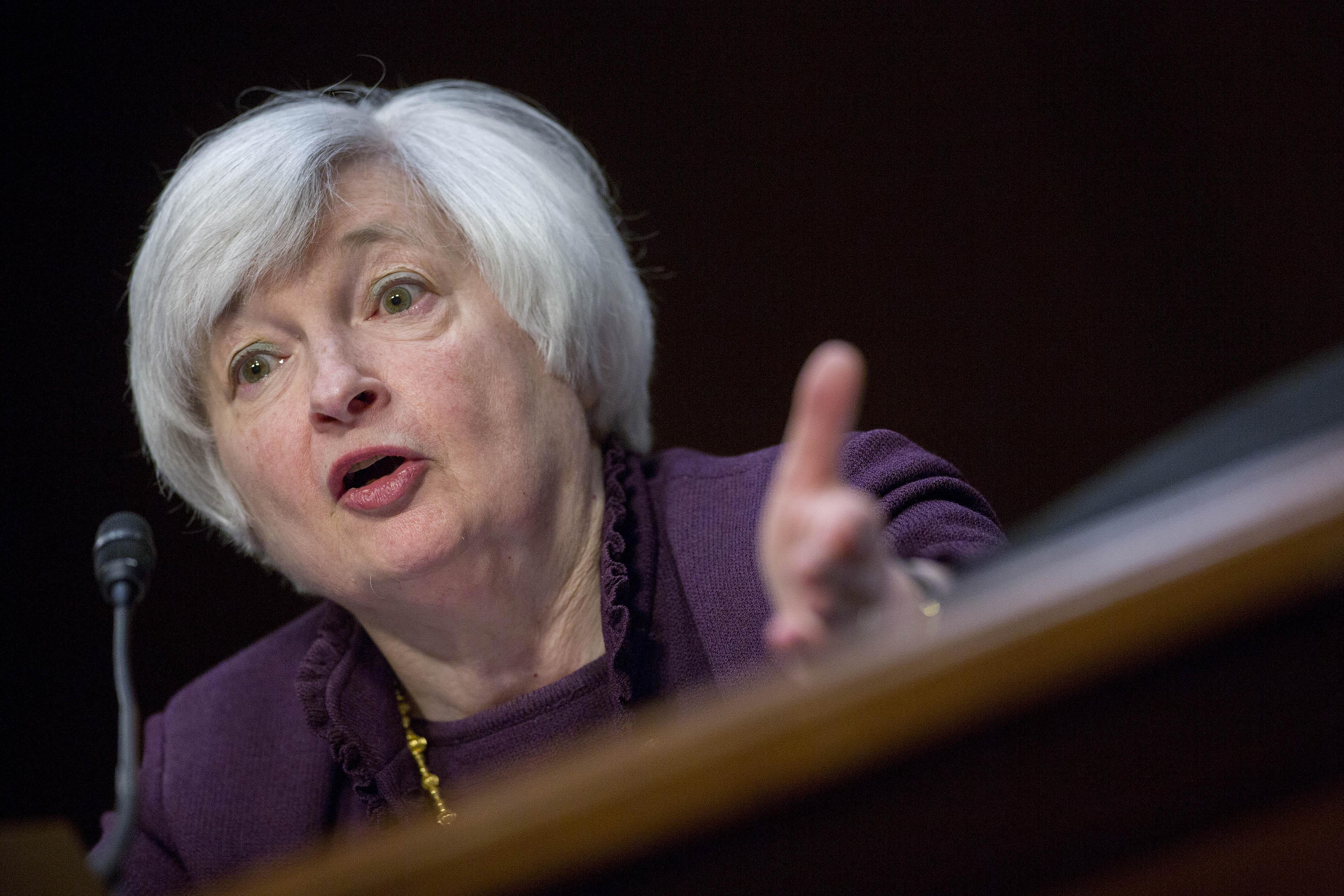 Janet Yellen Testifies Before The Joint Economic Committee