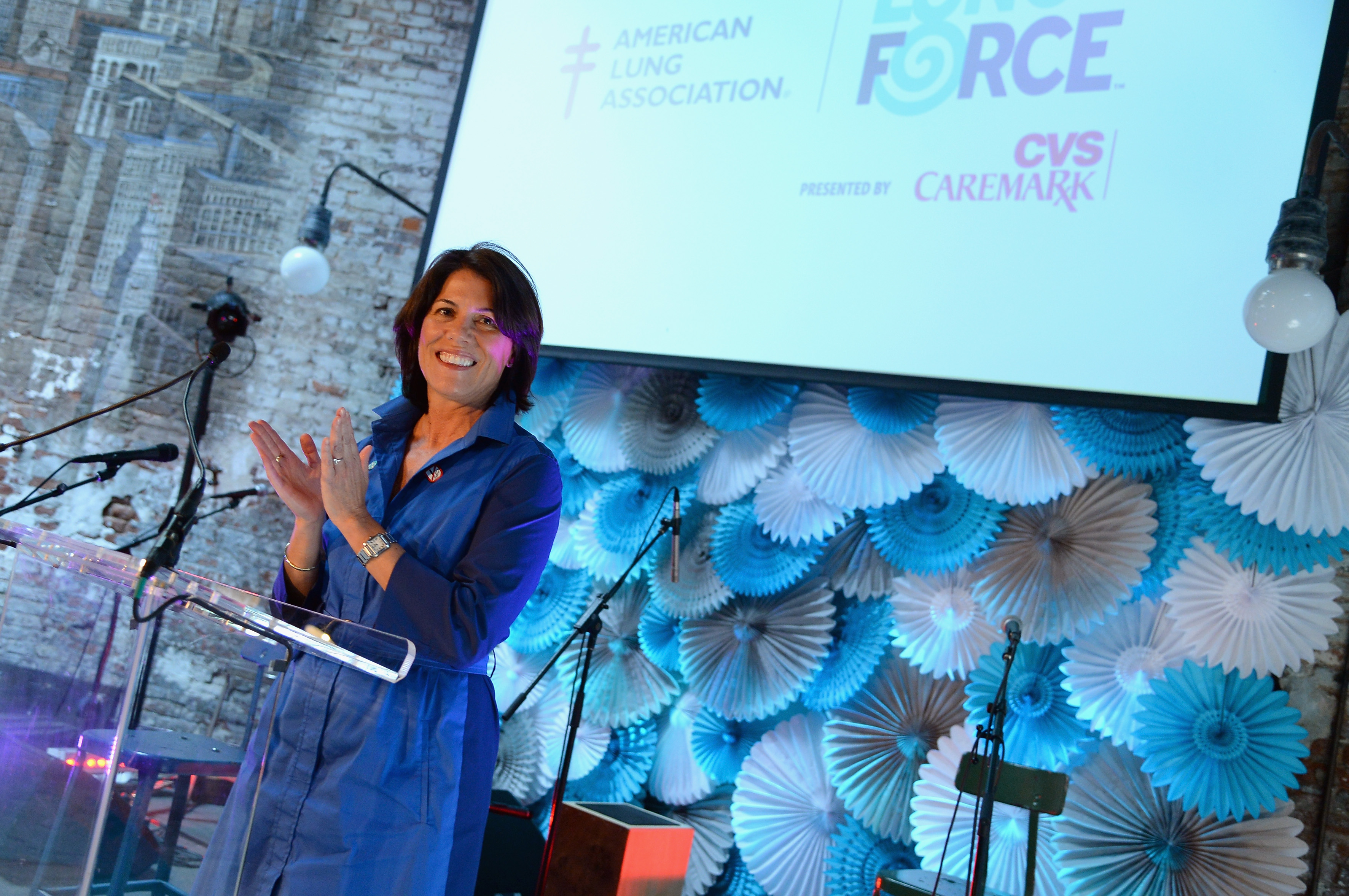 American Lung Association Teams Up With Valerie Harper And Kellie Picker To Launch LUNG FORCE, National Public Health Initiative To Fight Lung Cancer In Women