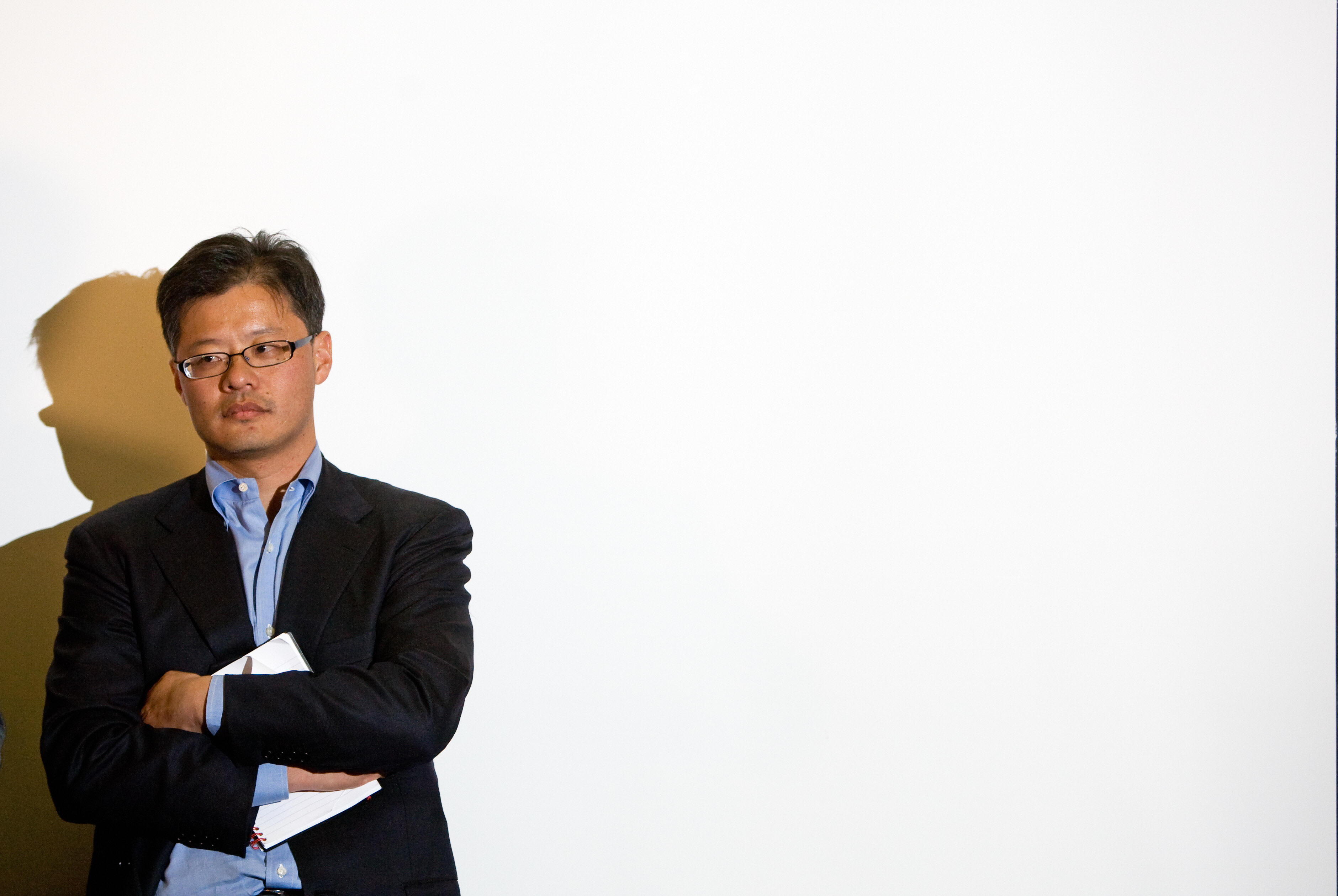 Jerry Yang, co-founder and CEO of Yahoo