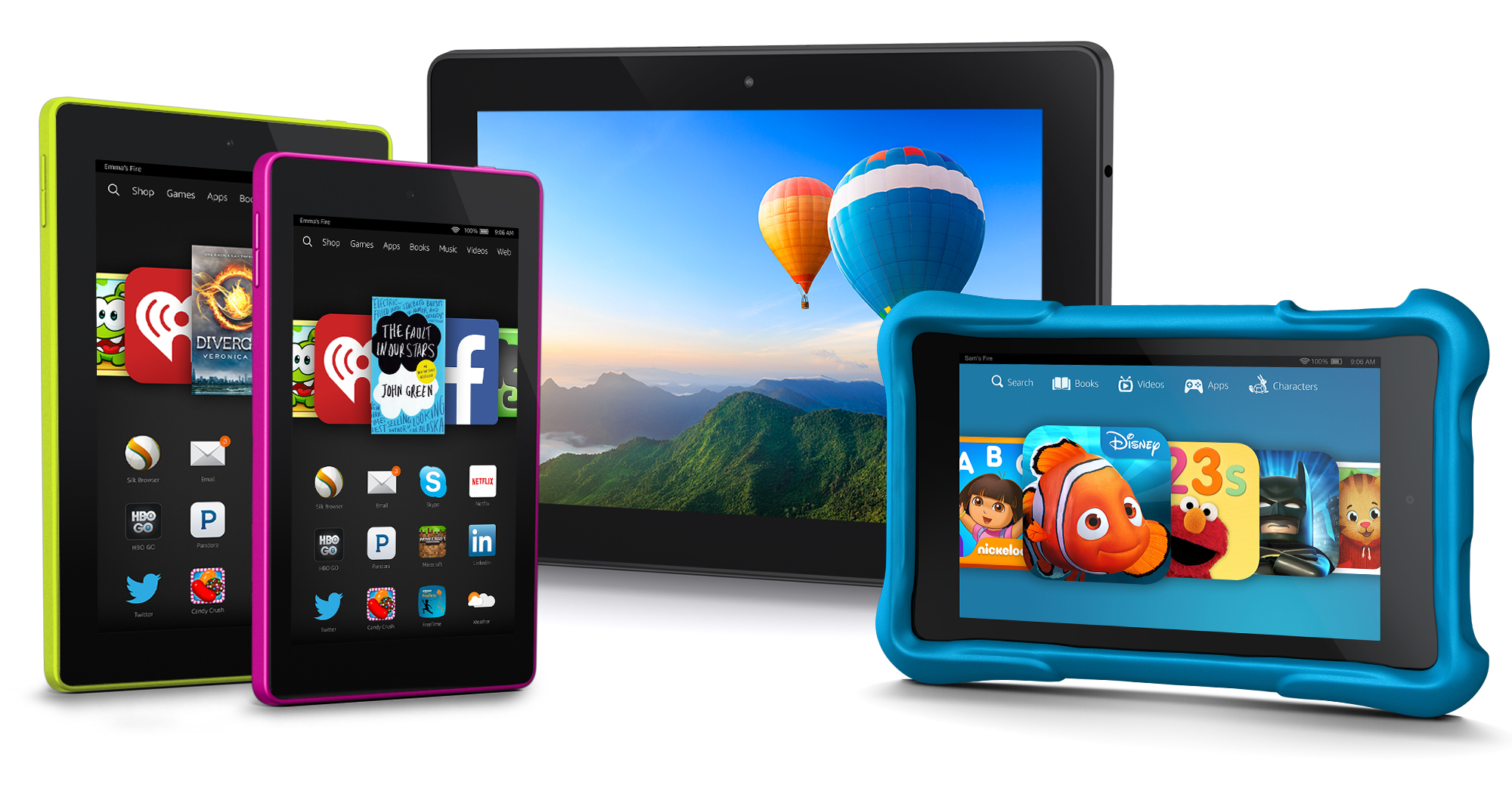 Amazon Fire tablet family (September 2014)