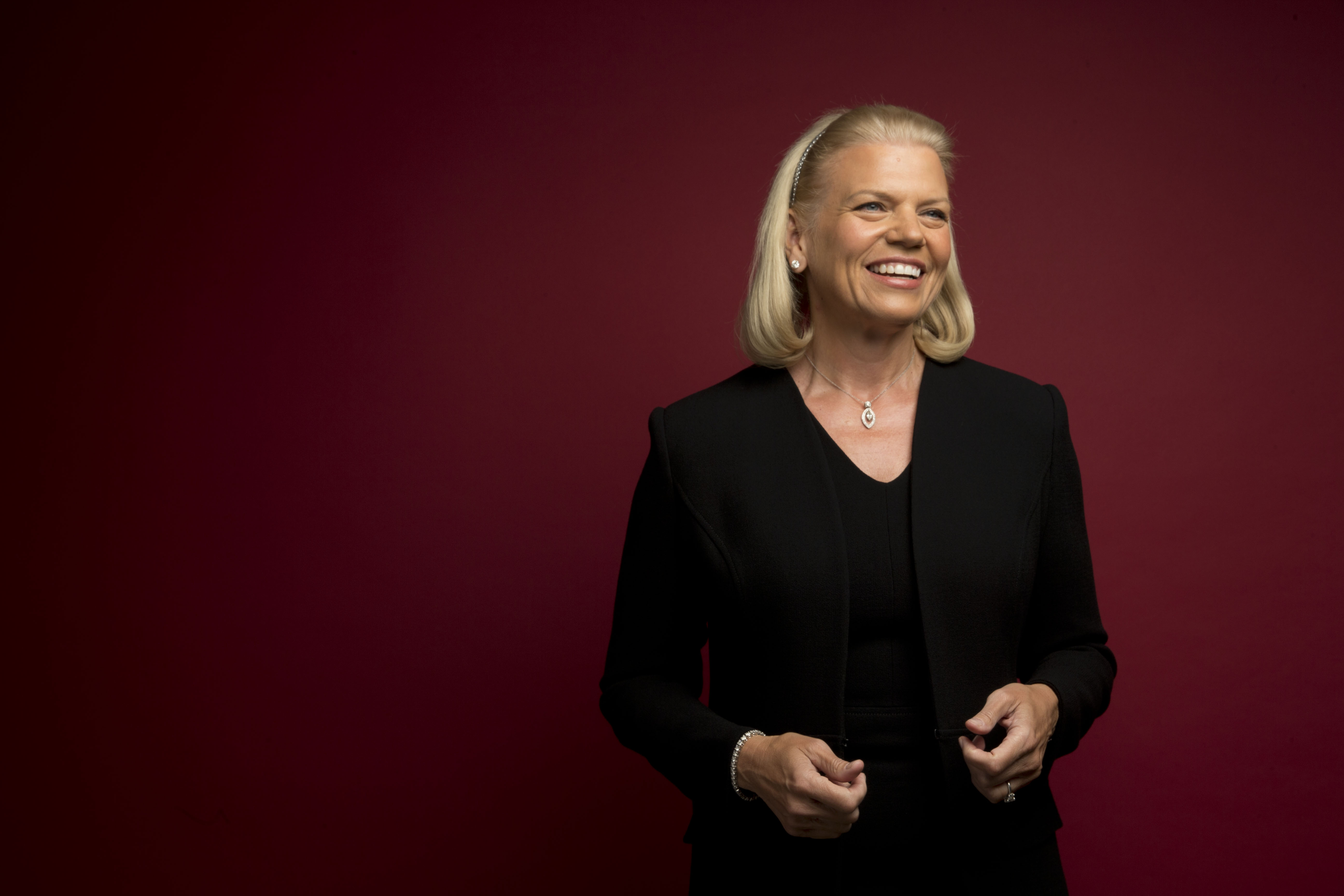 Ginni Rometty, CEO, chairman and president of IBM