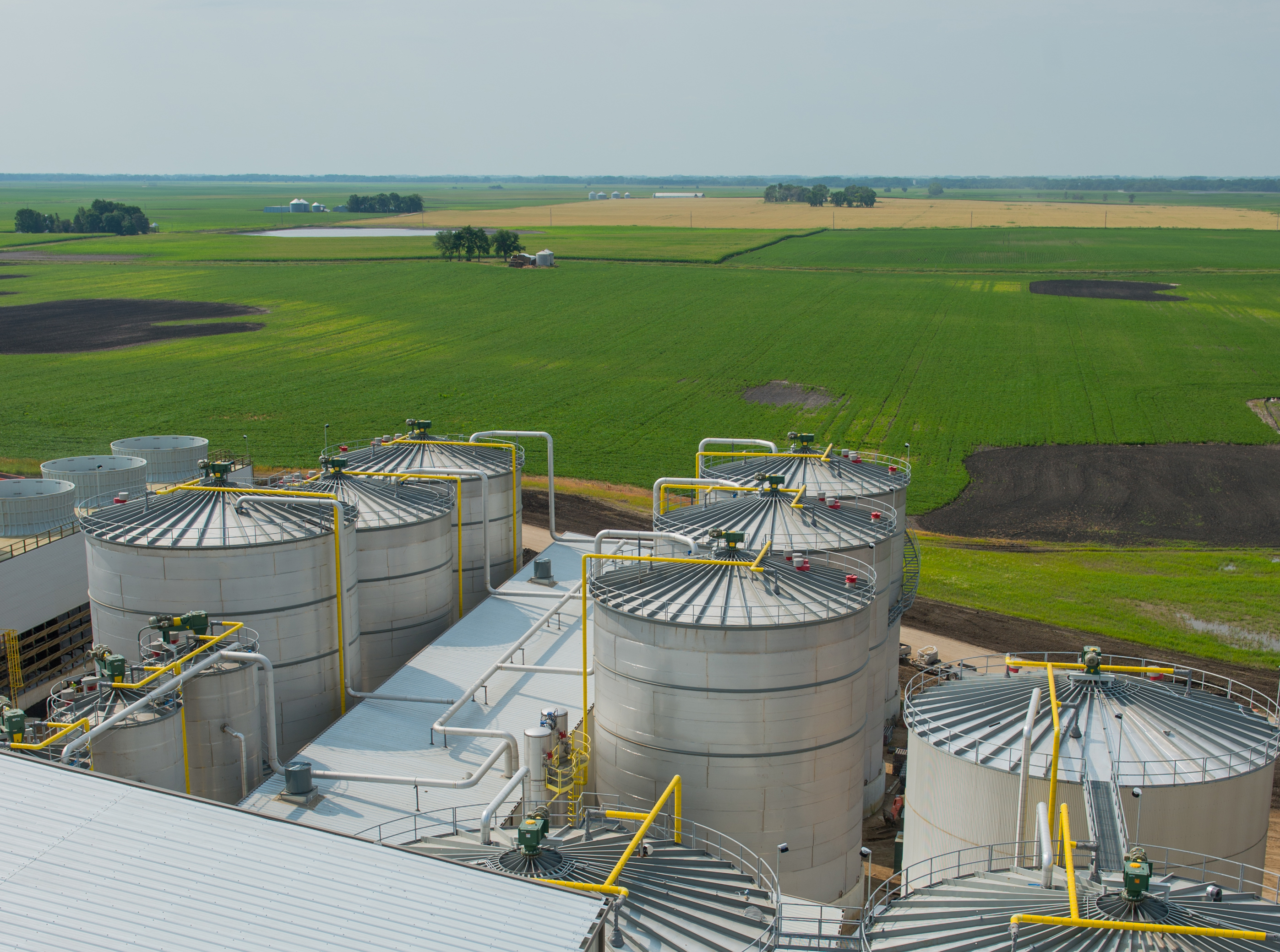 The new Project Liberty cellulosic ethanol facility in Emmertsburg, Iowa.