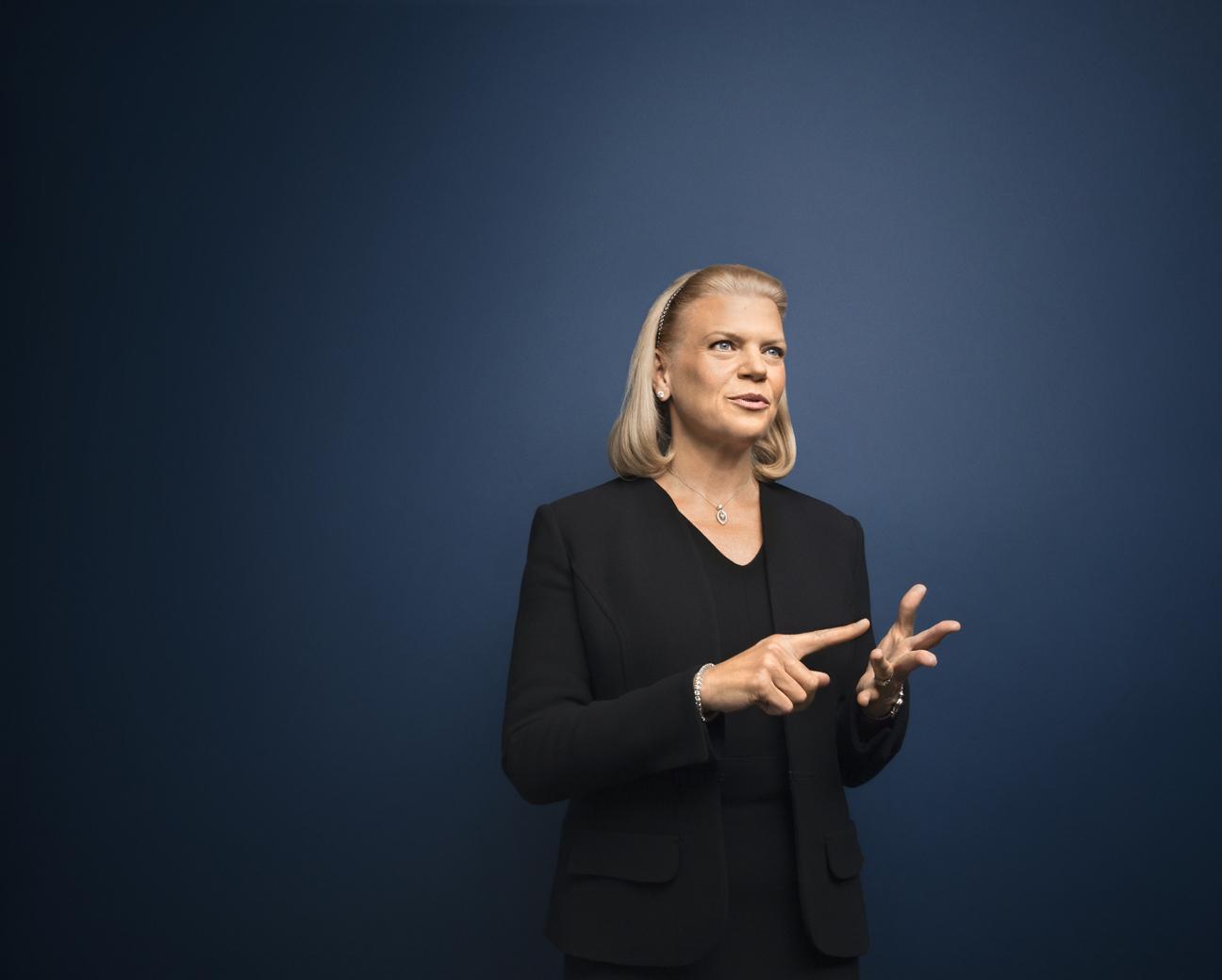 IBM CEO GINNI ROMETTY, SEPTEMBER 2014