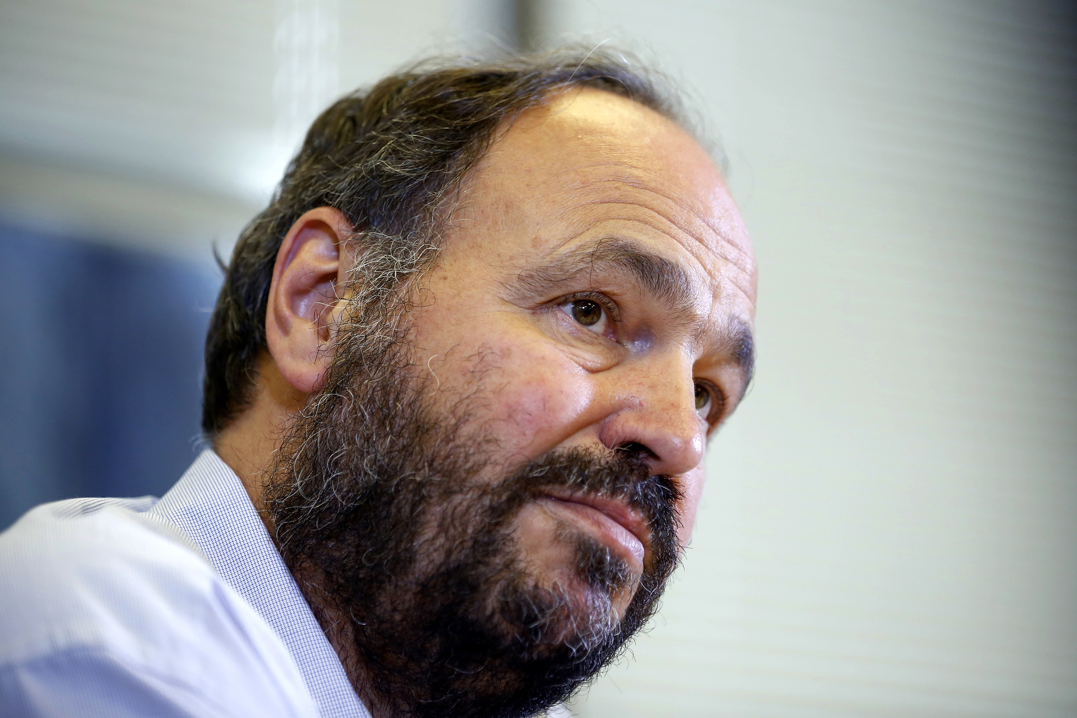 Paul Maritz, chief strategy executive of EMC, speaks during the Reuters Global Technology Summit in San Francisco