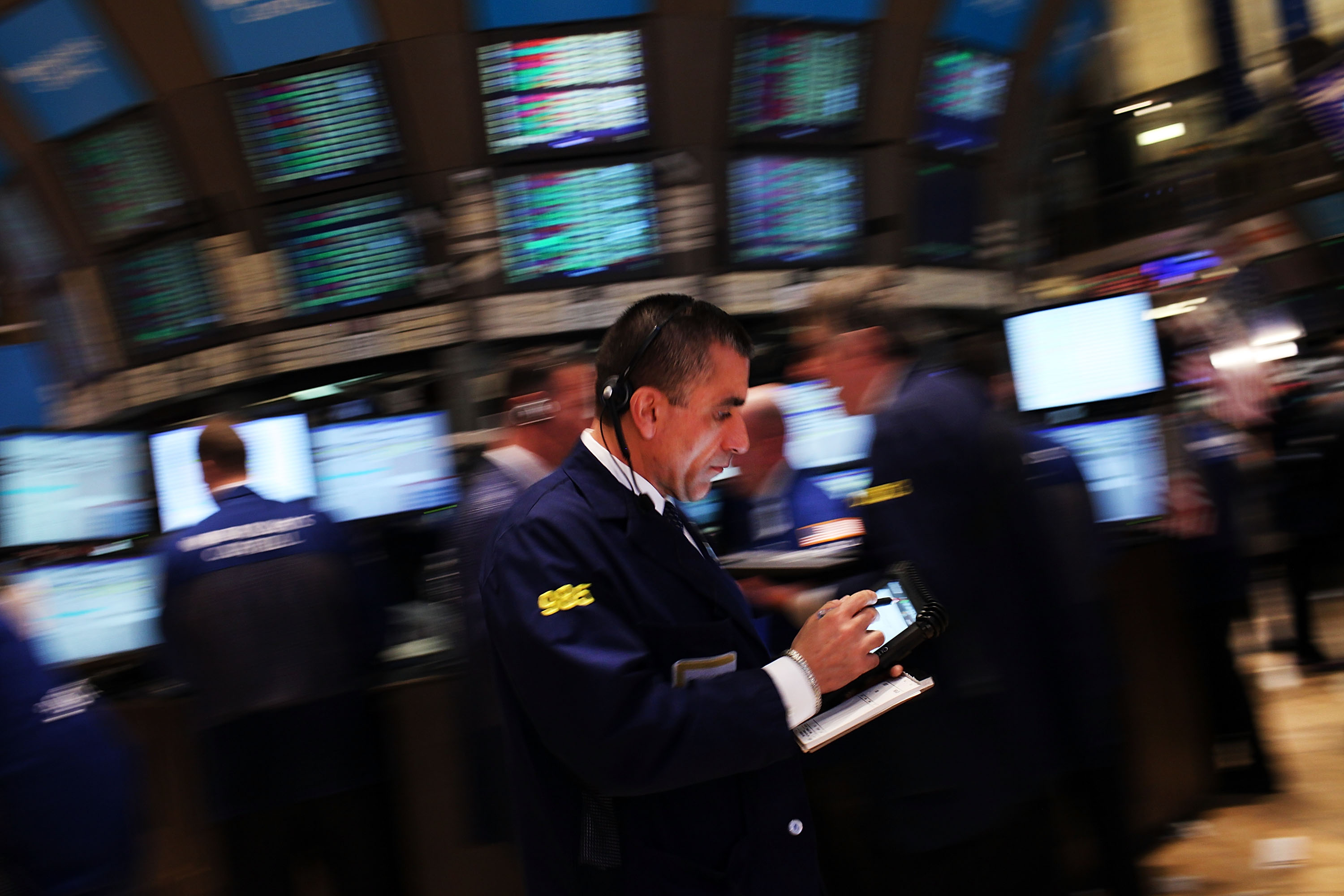 Dow Closes In On 13,000