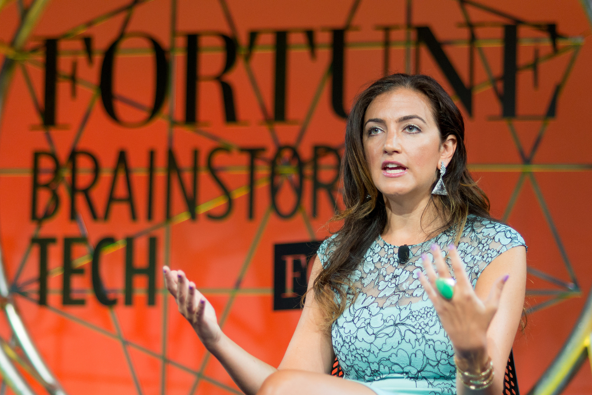 Rent the Runway CEO Jennifer Hyman at the 2014 Fortune Brainstorm Tech conference in Aspen, Colo.