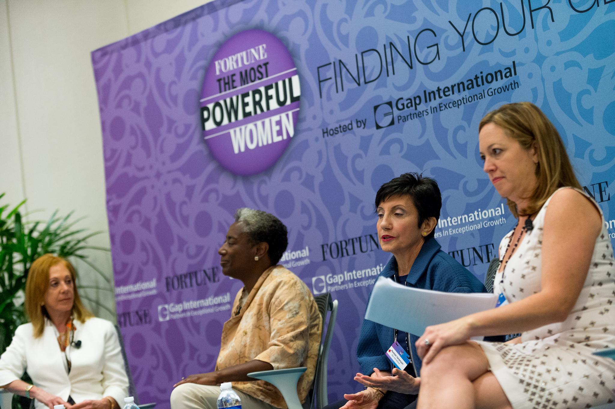 Tamara Lundgren, Bridgette Heller,  Pontish Yeramyan,  Moderator: Jennifer Reingold