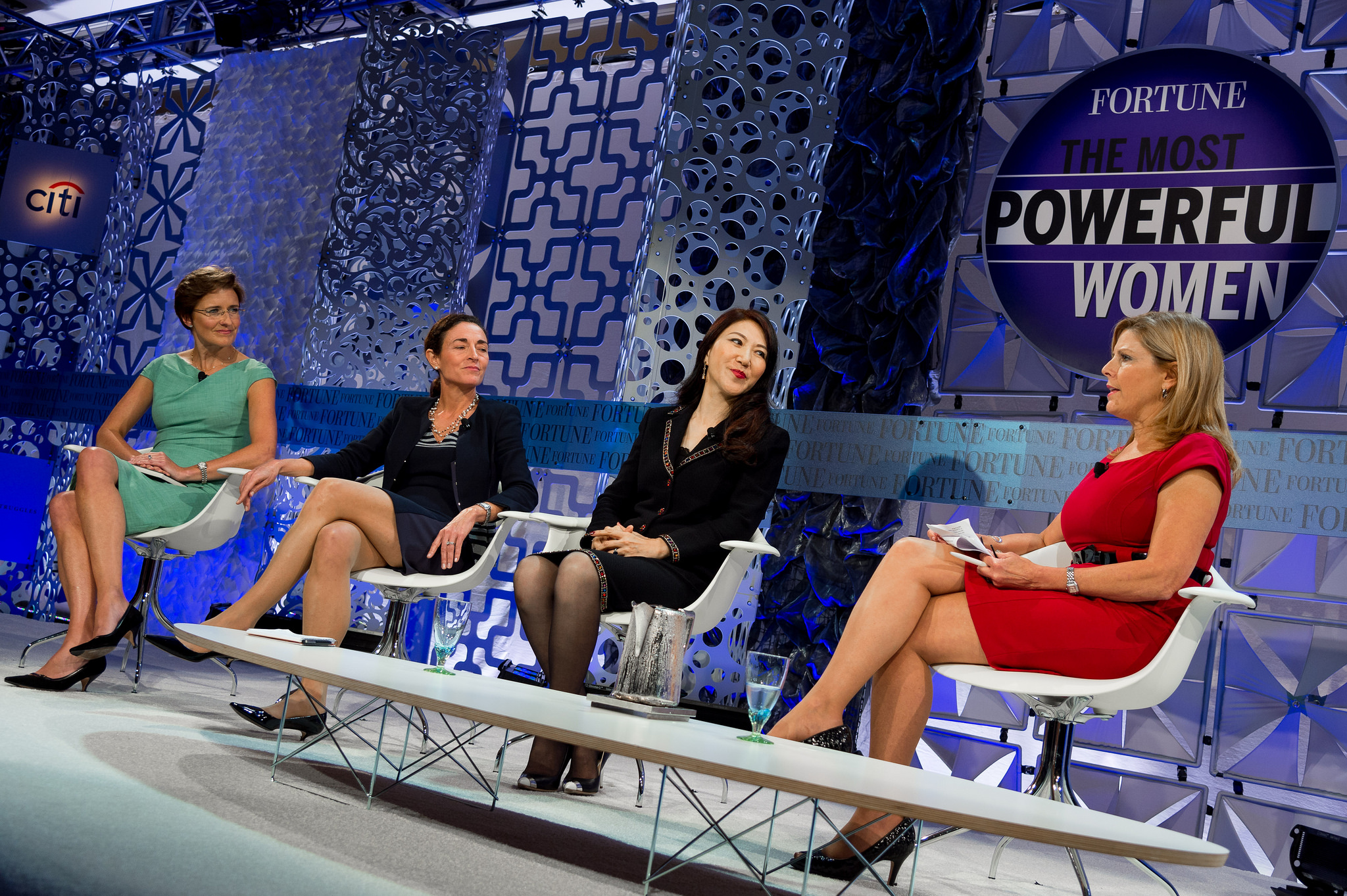 Jane Fraser, Diana Farrell,  Wei Sun Christianson,  Moderator: Nina Easton