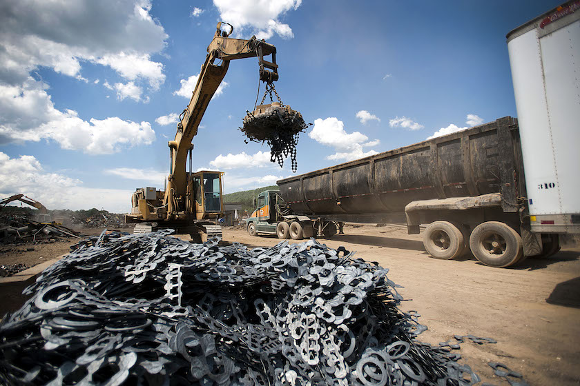 General Images Of Copper And Aluminum Recycling