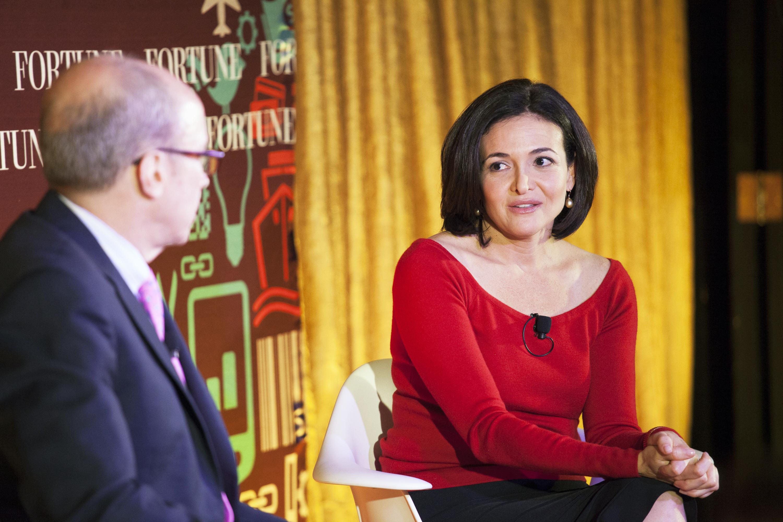 Sheryl Sandberg, Fortune Brainstorm Tech marketing dinner New York 2014
