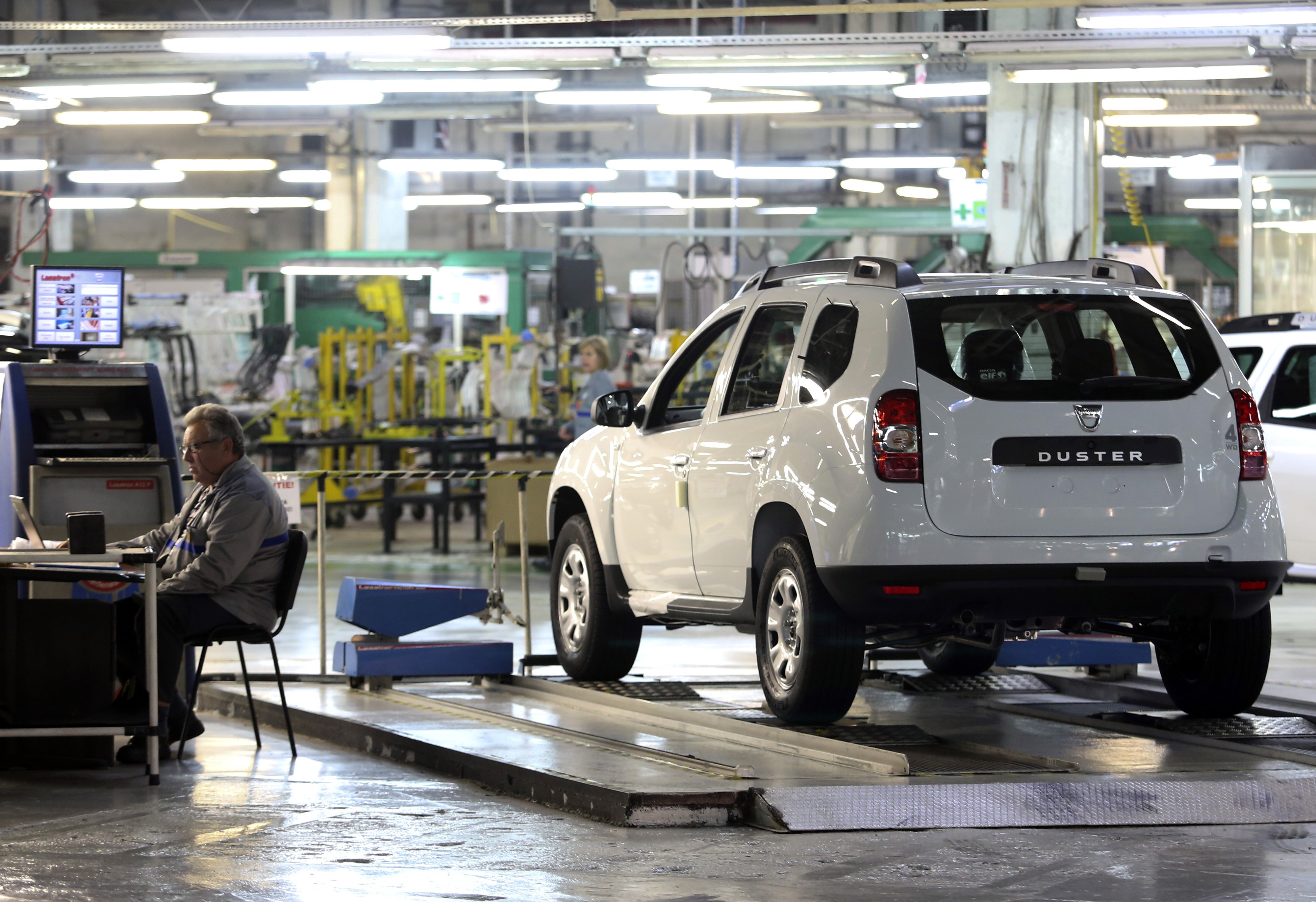 Inside A Renault Dacia Plant As Vehicles Leave The Production Line