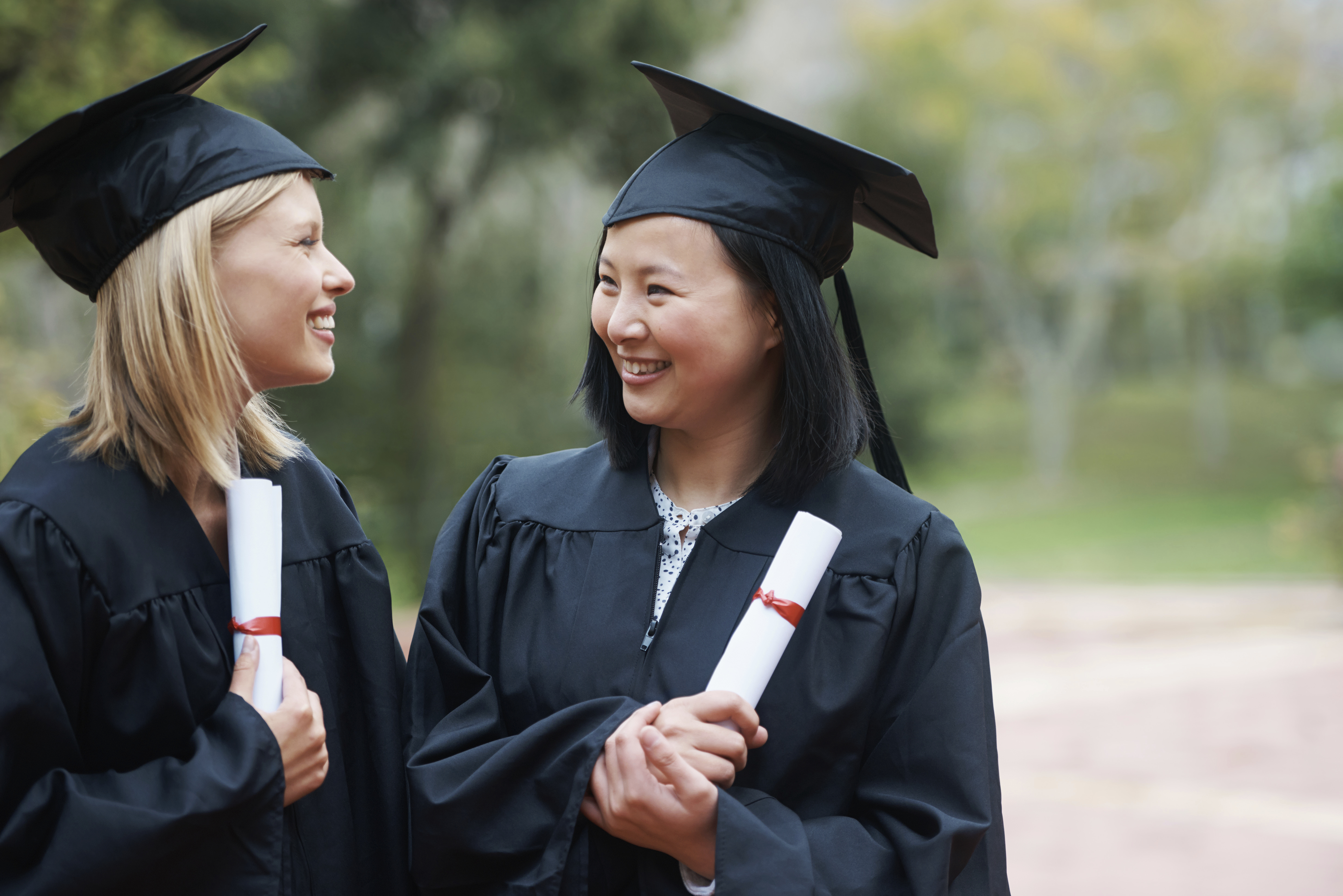women college graduation MBA