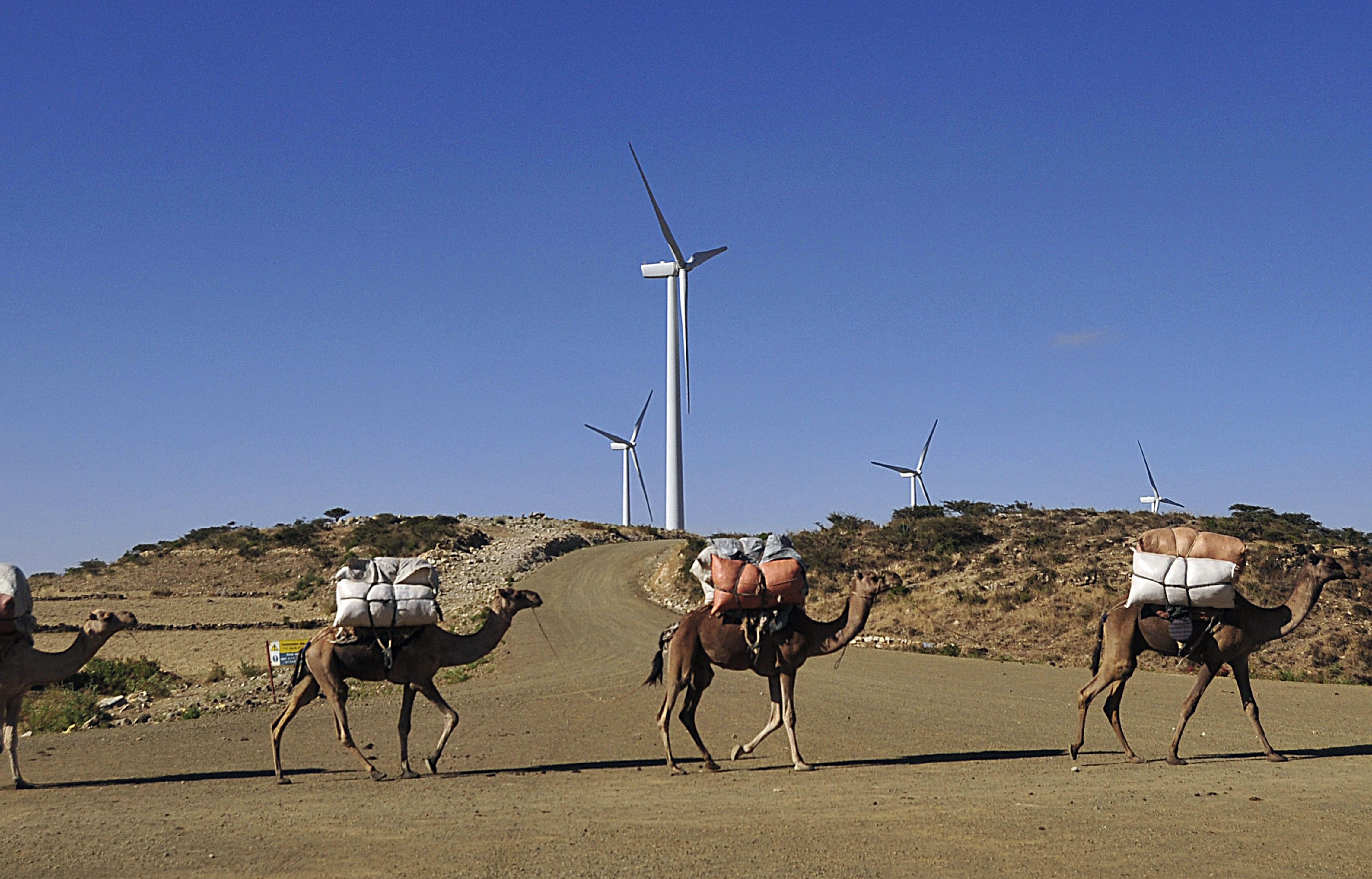 ETHIOPIA-ENERGY-WINDFARM