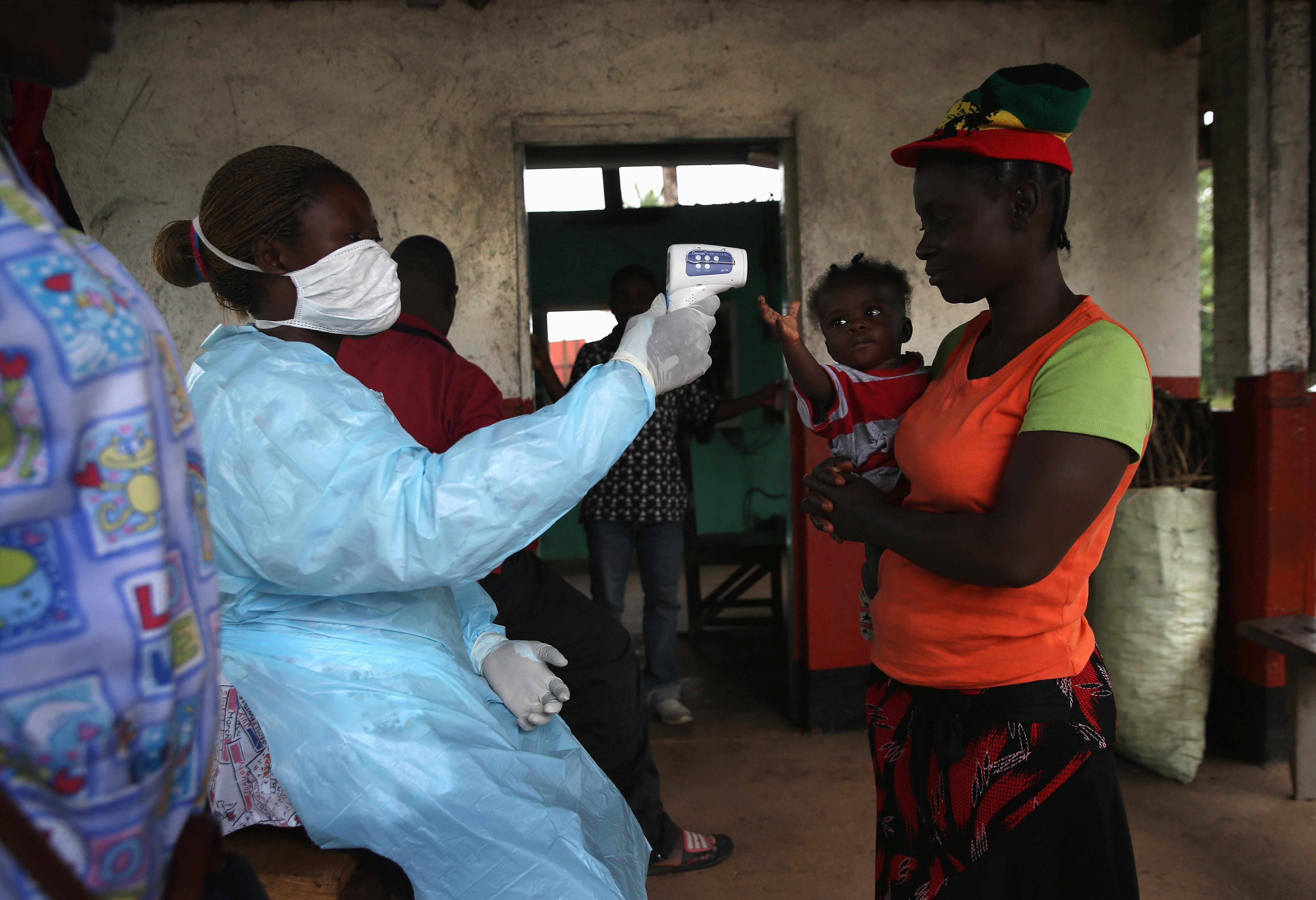 Residents Of Quarantined Town Near International Airport Endure Ebola Epidemic