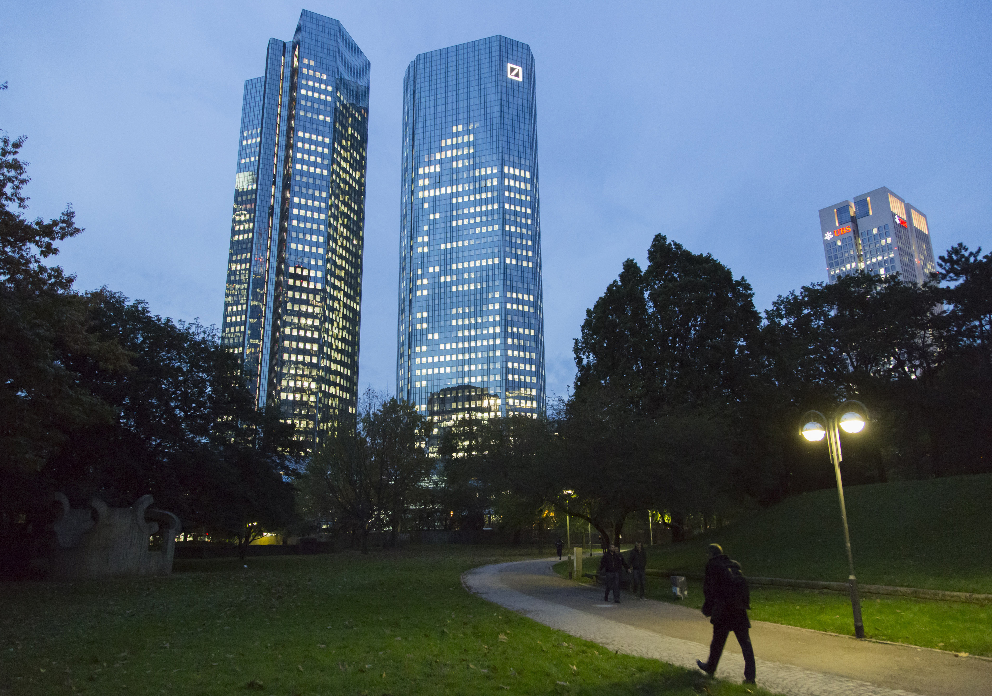 Deutsche Bank Headquarters And Branches Ahead Of Foreign Exchange Rigging Fine