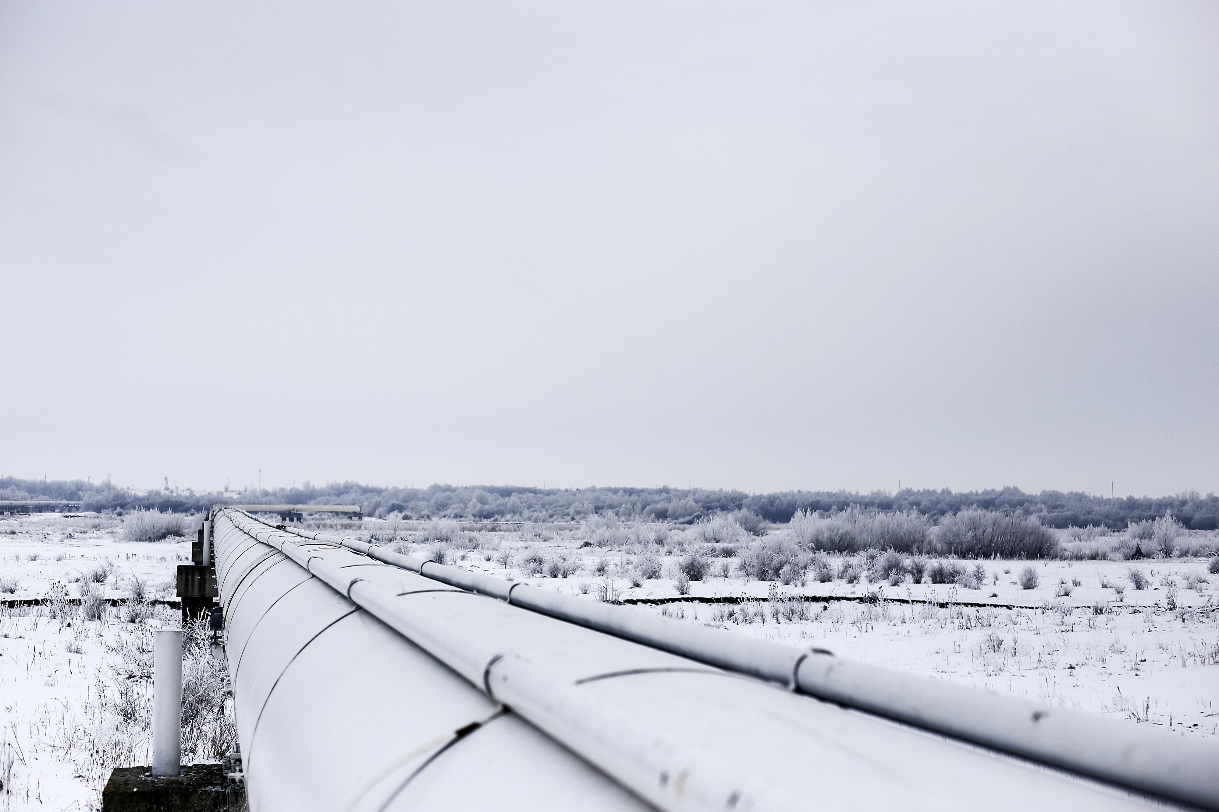 Russian And Ukrainian Gas Pipelines As Ukraine Gas Debt Raises Concern