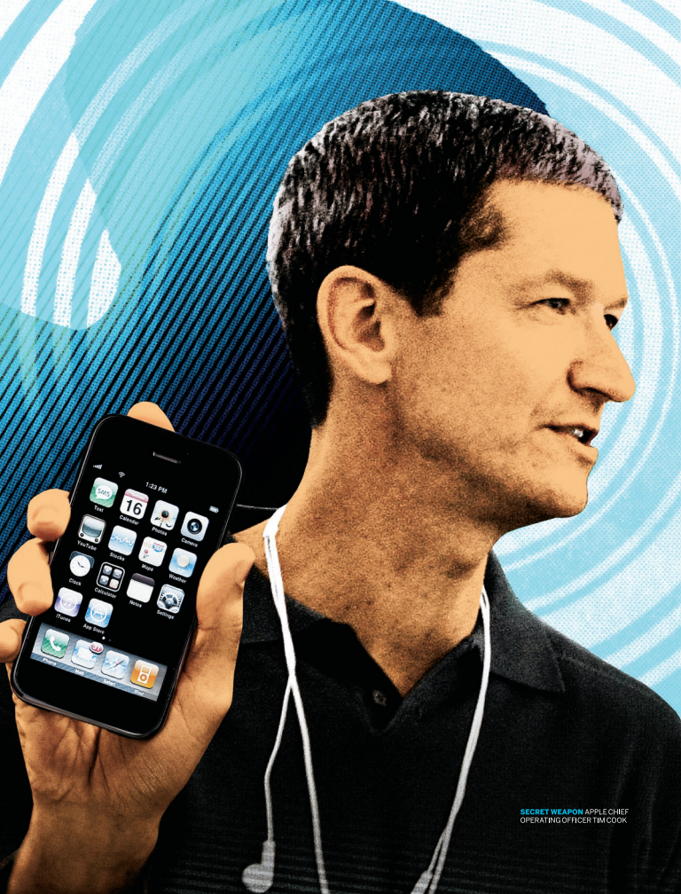 Secret Weapon: Apple chief operating officer Tim Cook.