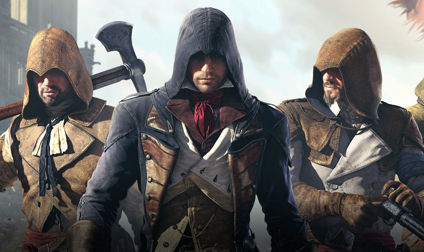 Promotional art for Assassin's Creed Unity.