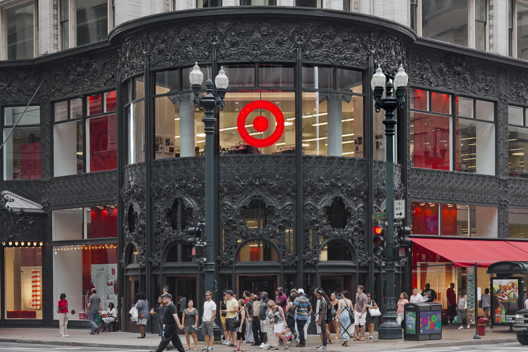 A Target store in Chicago