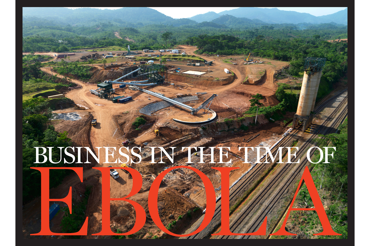 ArcelorMittal was in the midst of a $1.7 billion expansion of its iron-ore mine in Yekepa, Liberia, when Ebola broke out.