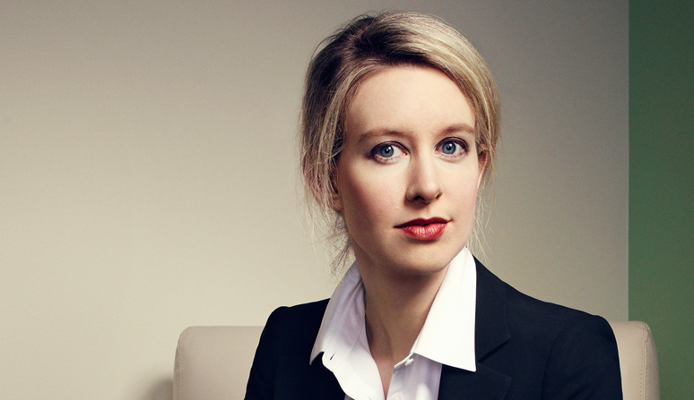 Elizabeth Holmes, one of the 15 women on this year's 40 under 40 list, started a company now worth $9 billion.
