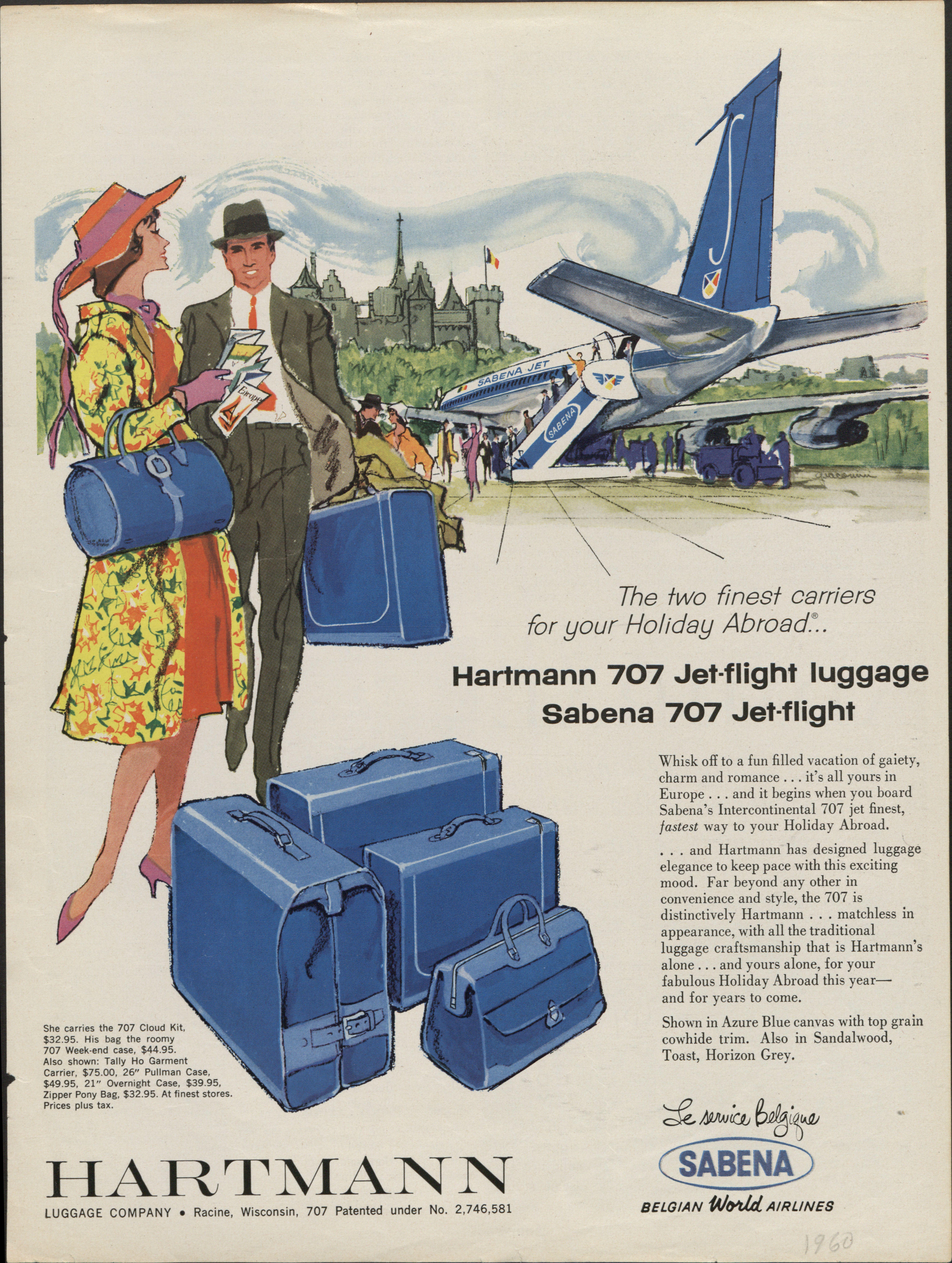 Vintage Hartmann advertisement
