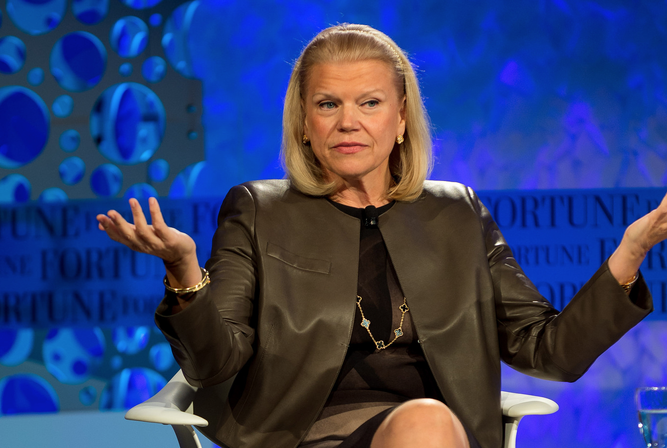 IBM CEO Ginni Rometty at the 2014 Fortune Most Powerful Women summit in Laguna Niguel, Calif.