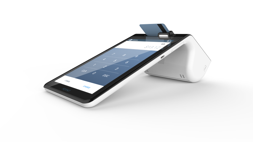 Launching early next year, the Poynt credit card reader packs cutting edge tech into a device comparably priced with the competition.