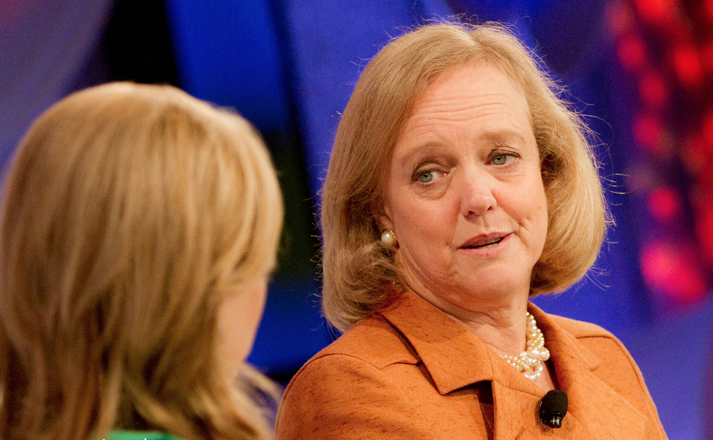HP CEO Meg Whitman at Fortune Most Powerful Women 2011