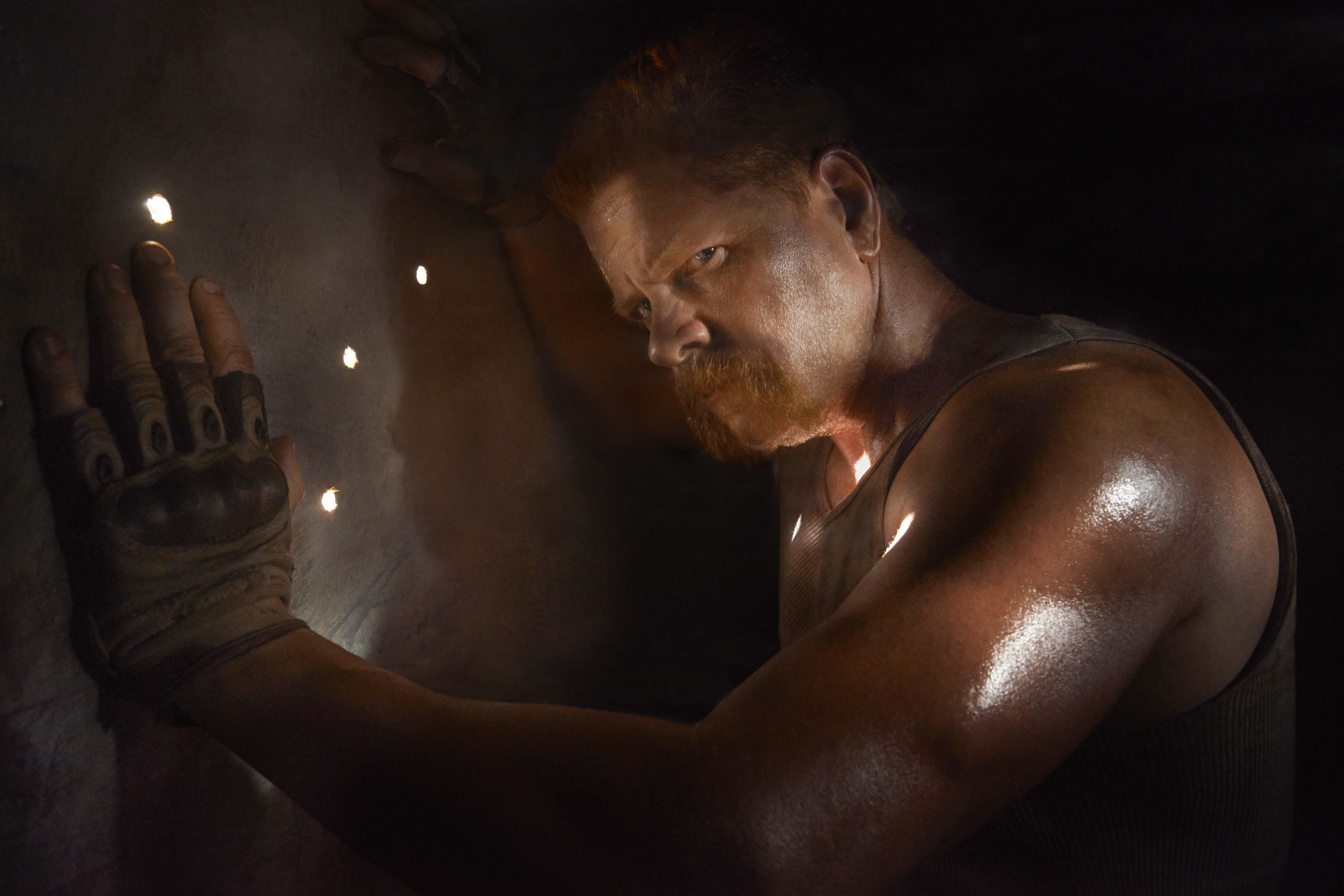 Michael Cudlitz as Abraham - The Walking Dead _ Season 5, Gallery - Photo Credit: Frank Ockenfels 3/AMC