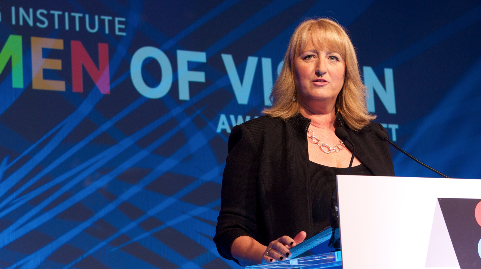 Penny Herscher, CEO, FirstRain, 2014 Women of Vision awards