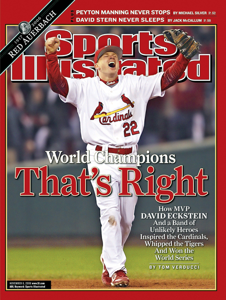 St. Louis Cardinals David Eckstein, 2006 World Series