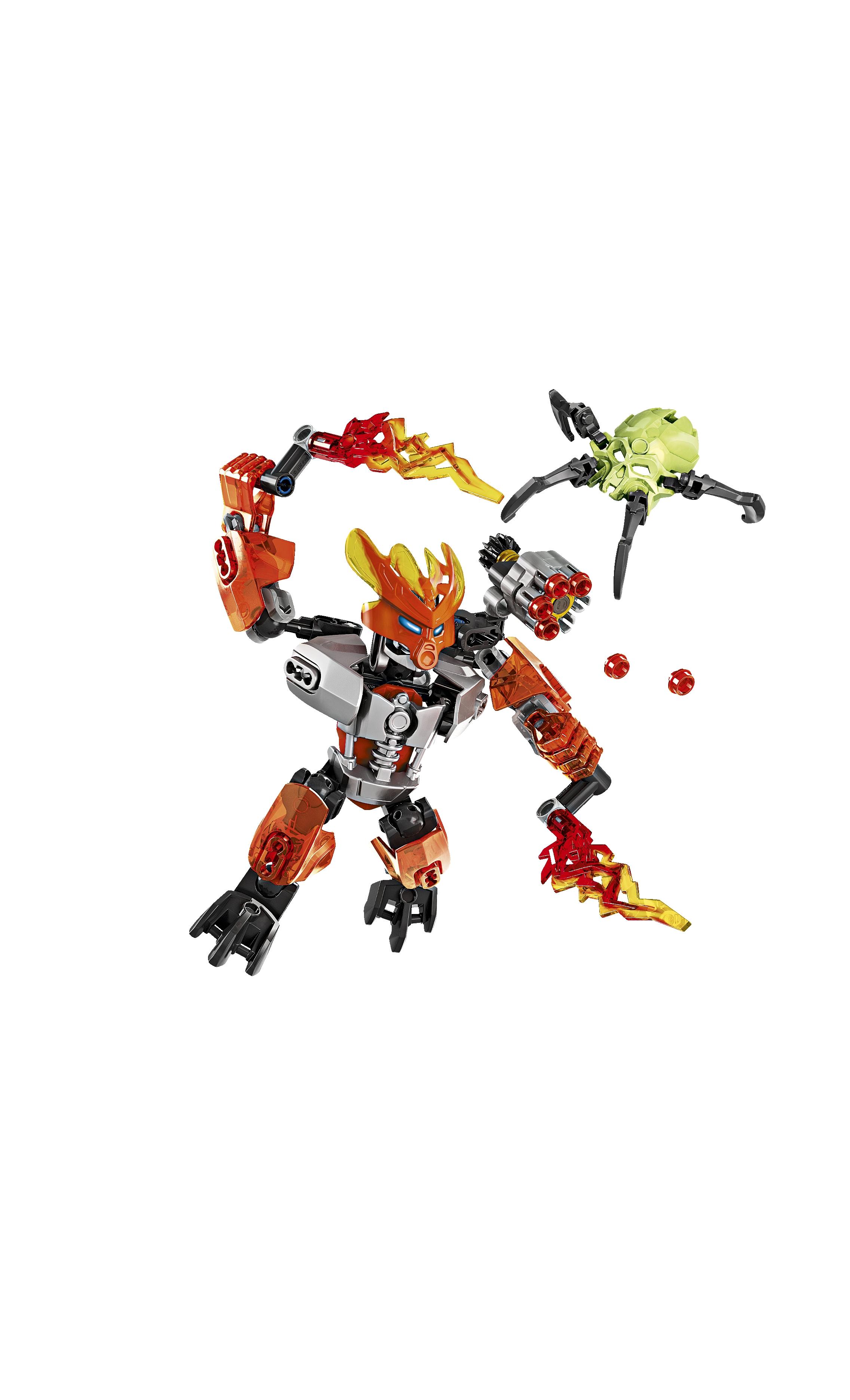 Lego's Bionicle line.