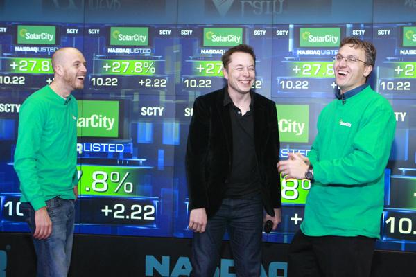 Peter Rive, Elon Musk, Lyndon Rive