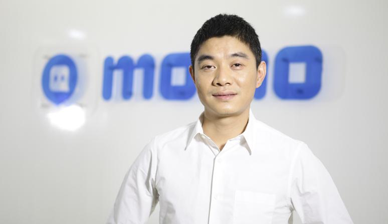 Tang Yan at the Momo offices in China.