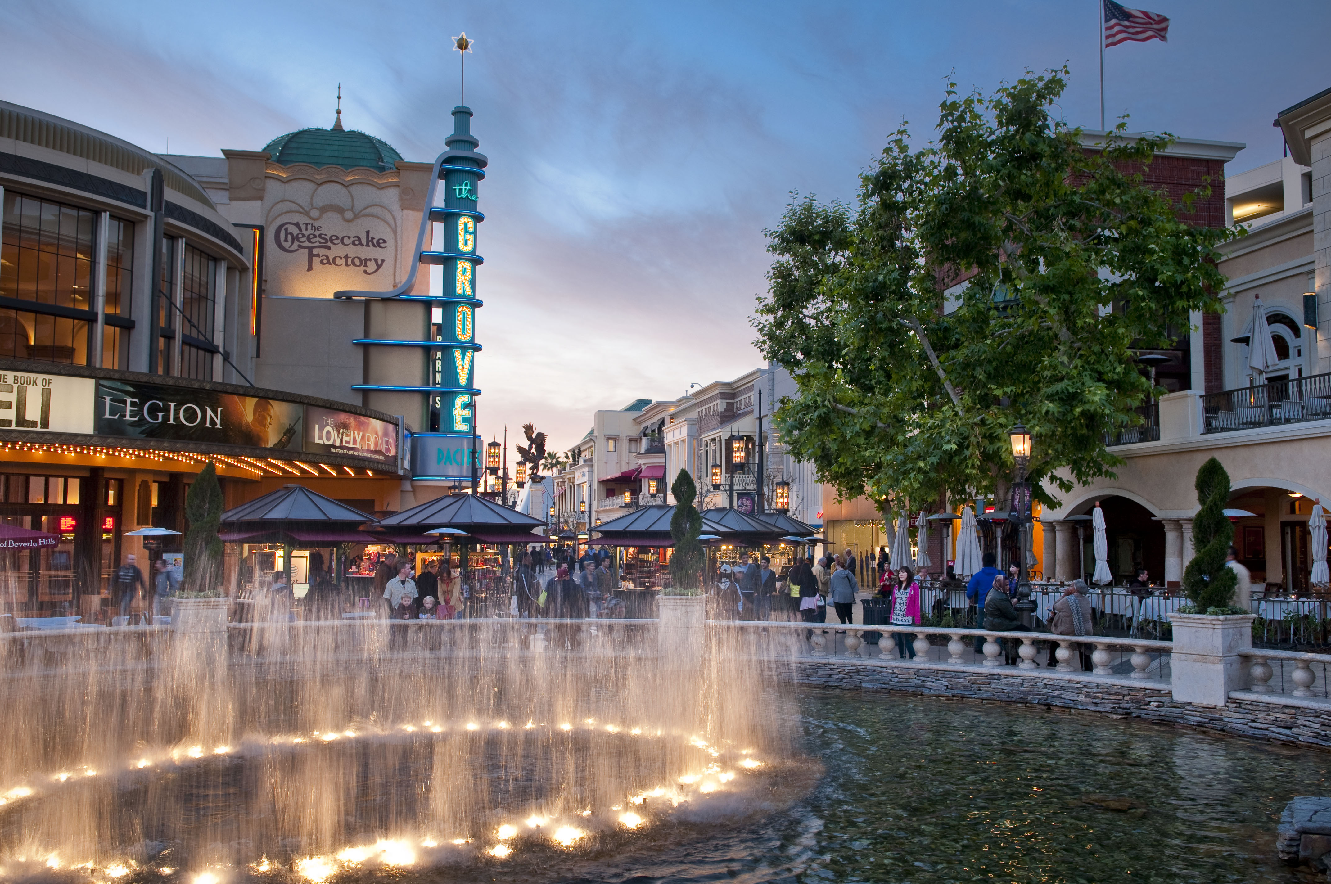 Image result for The Grove mall in the usa