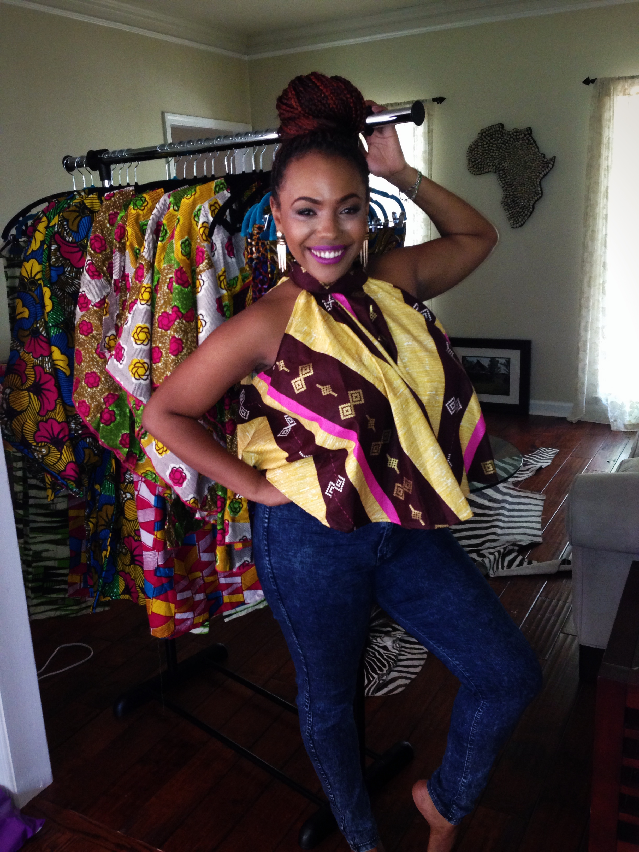 Archel Bernard is hopeful that Liberia will beat Ebola -- and she can reopen her ready-to-wear clothing store in Monrovia.