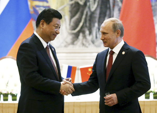 Russian President Vladimir Putin and Chinese Presdient Xi Jinping