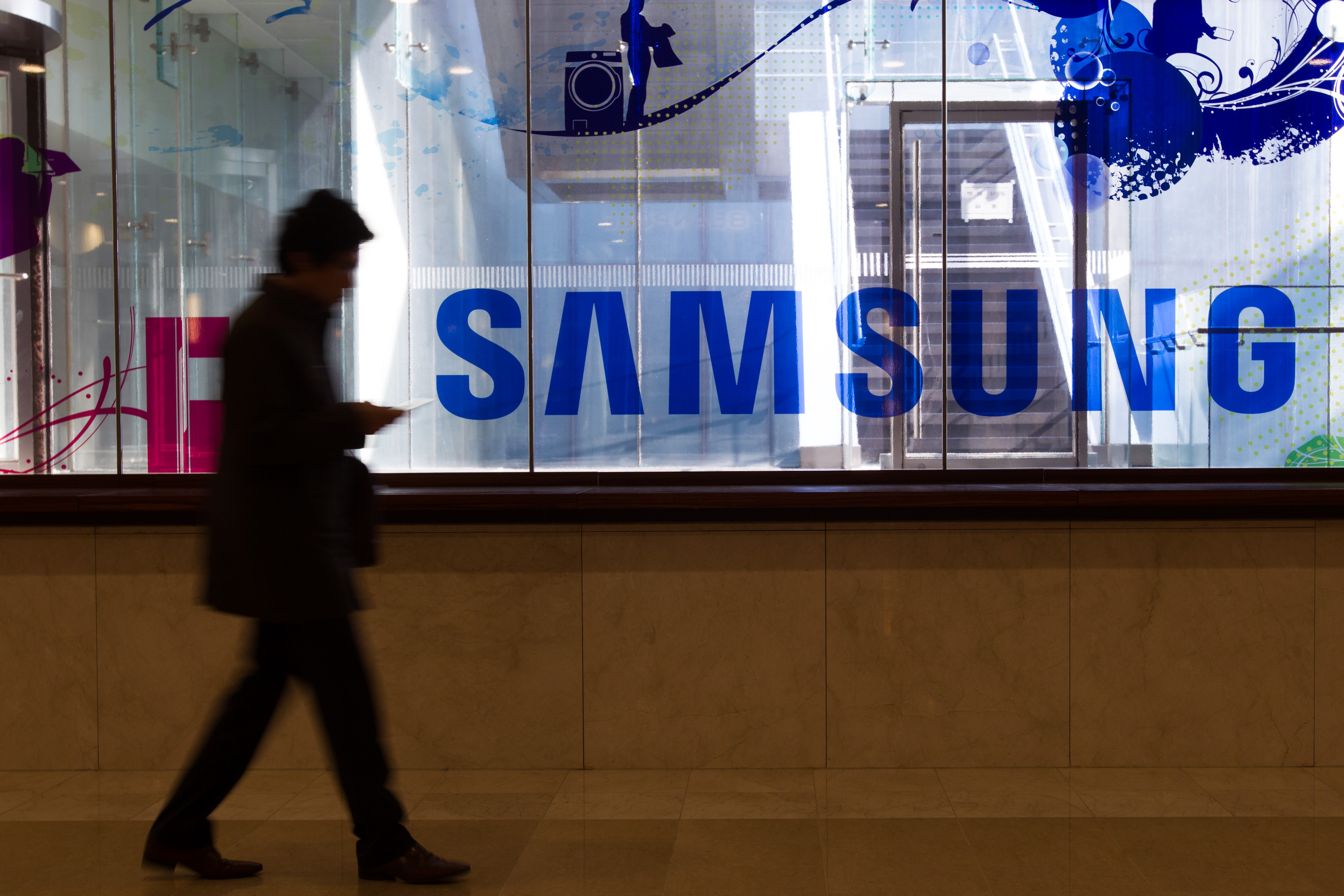 Samsung Holds Shareholders Meeting