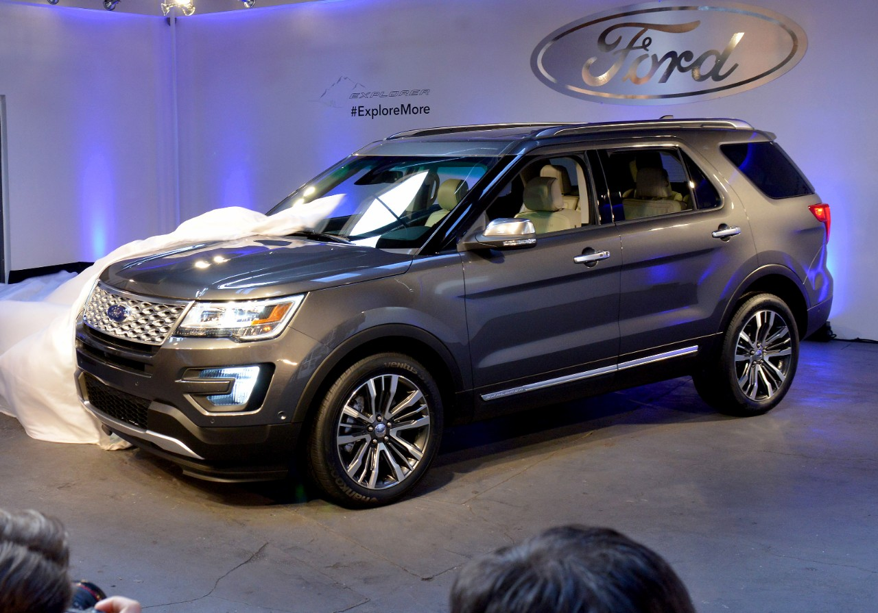 The 2016 Ford Explorer.