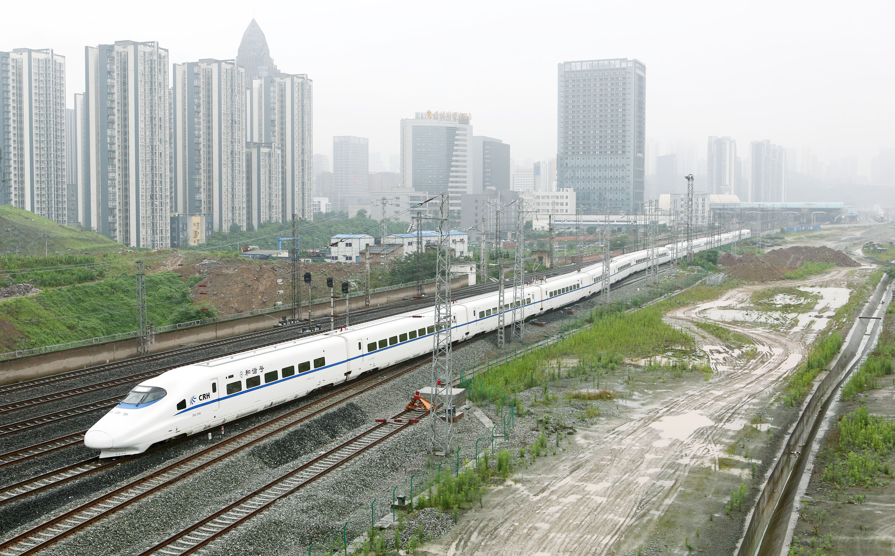 China To Form High-speed Railway Network By 2015
