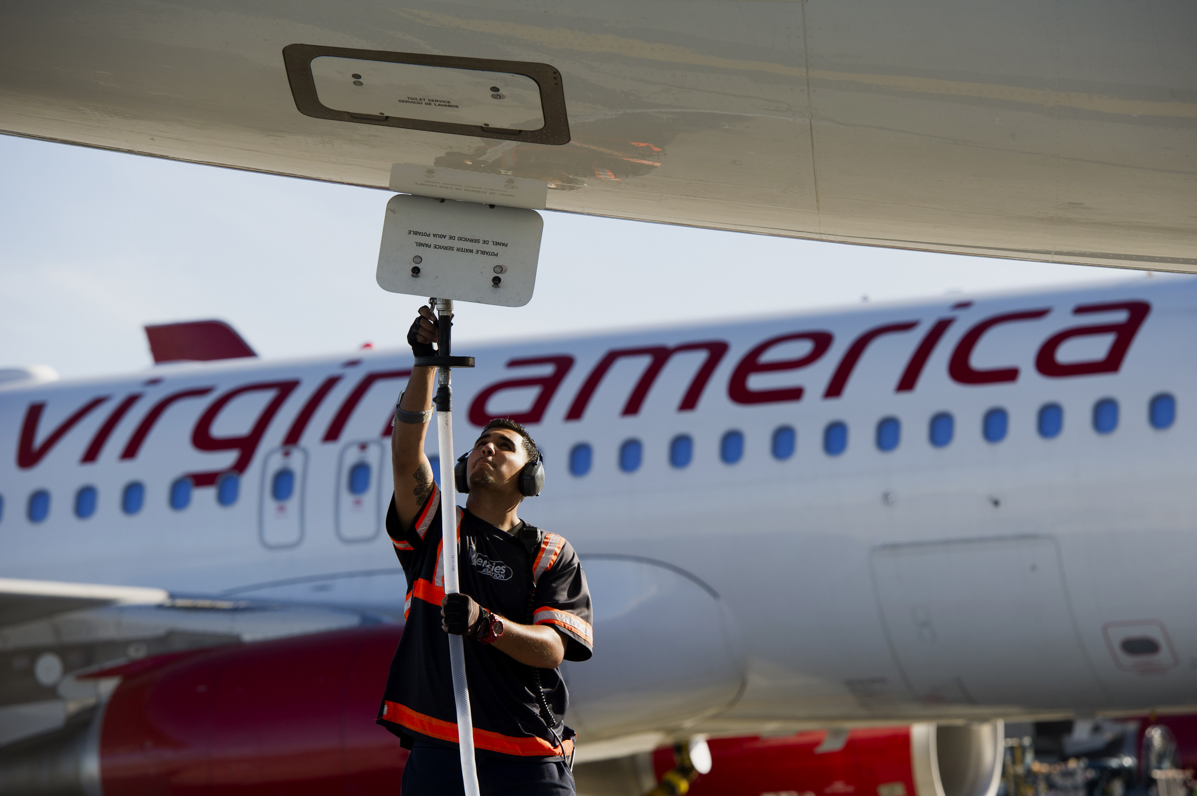 Operations Inside The Virgin America Inc. Terminal After Filing For IPO