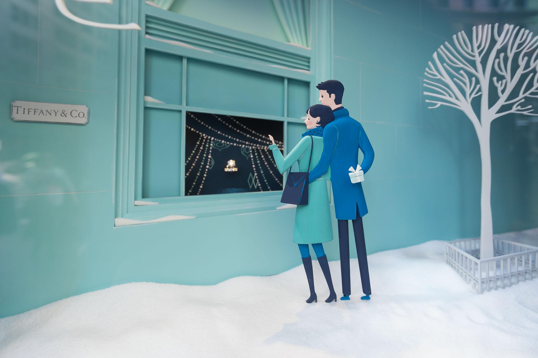 2014 Holiday Shopping Windows - New York, New York
