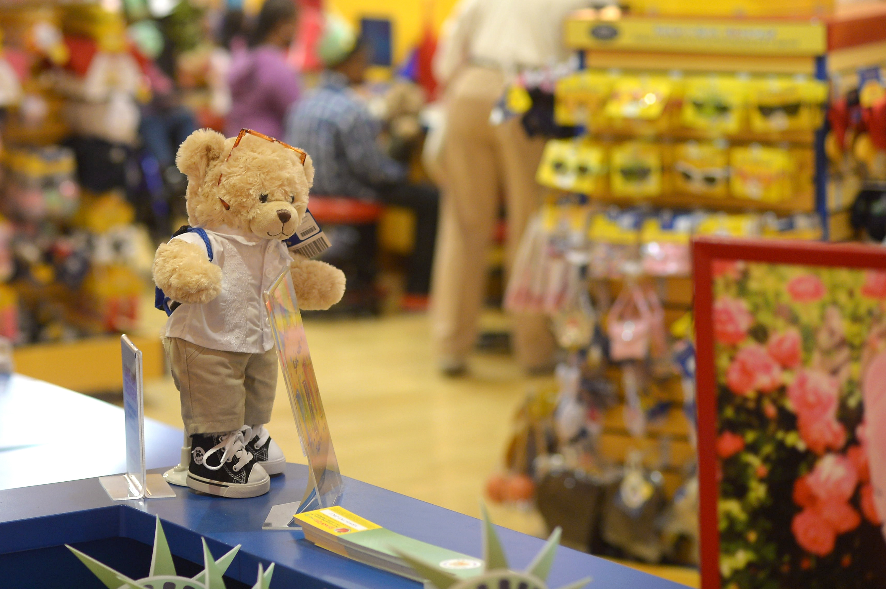 Build-A-Bear Workshop Make-A-Wish Event In New York City