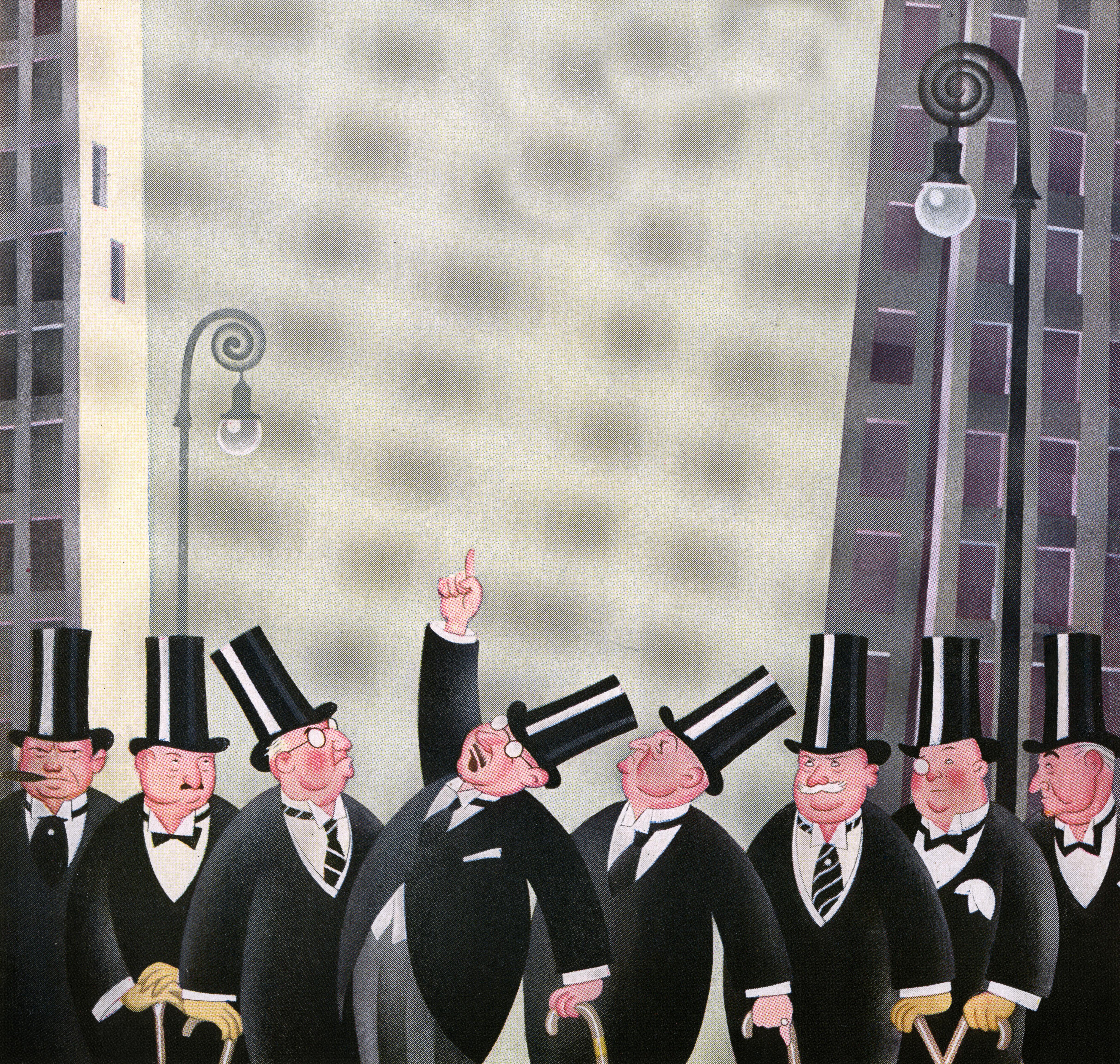 Rich Men On Wall Street