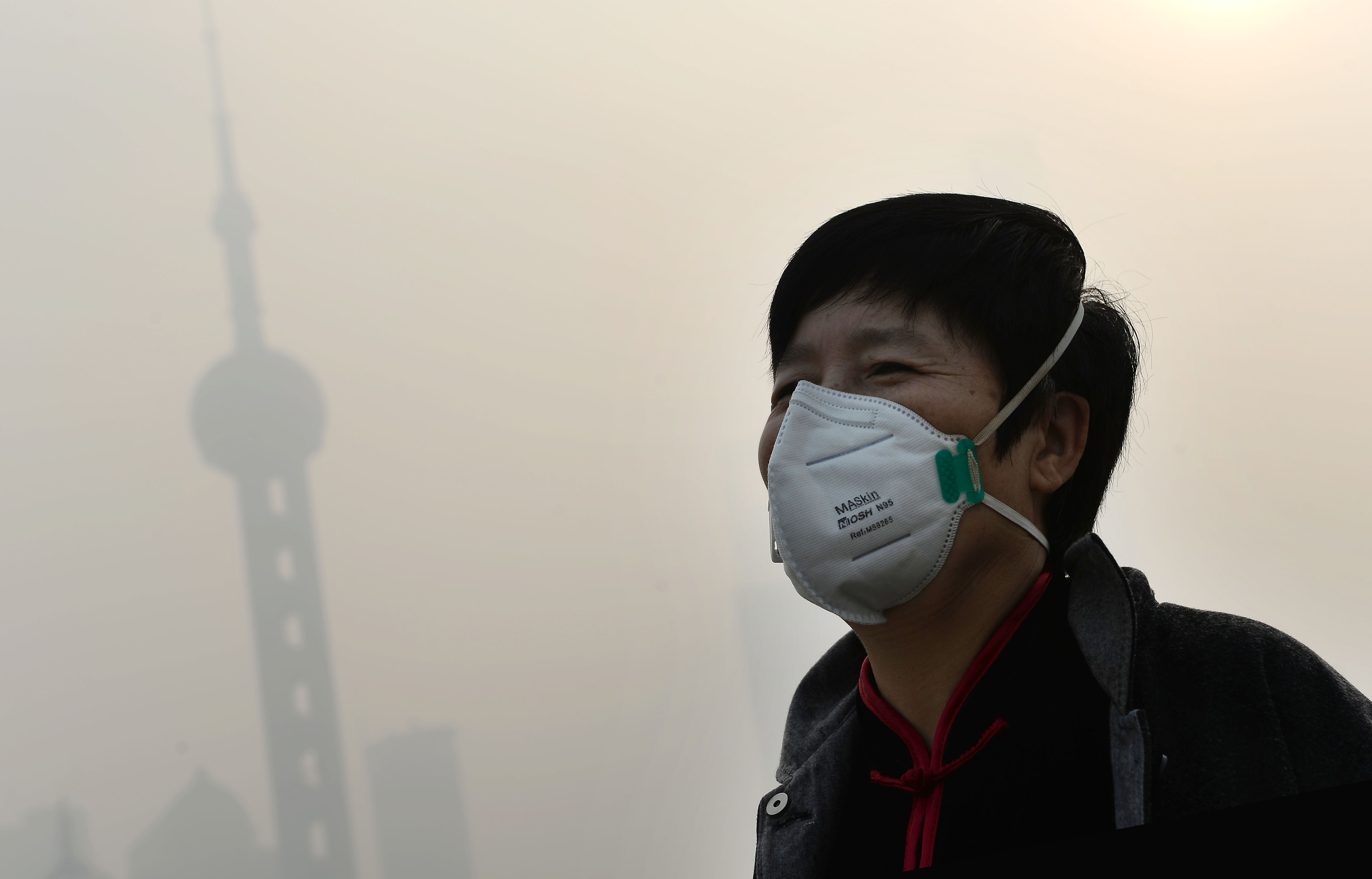 Shanghai smothered by smog as air heavily polluted