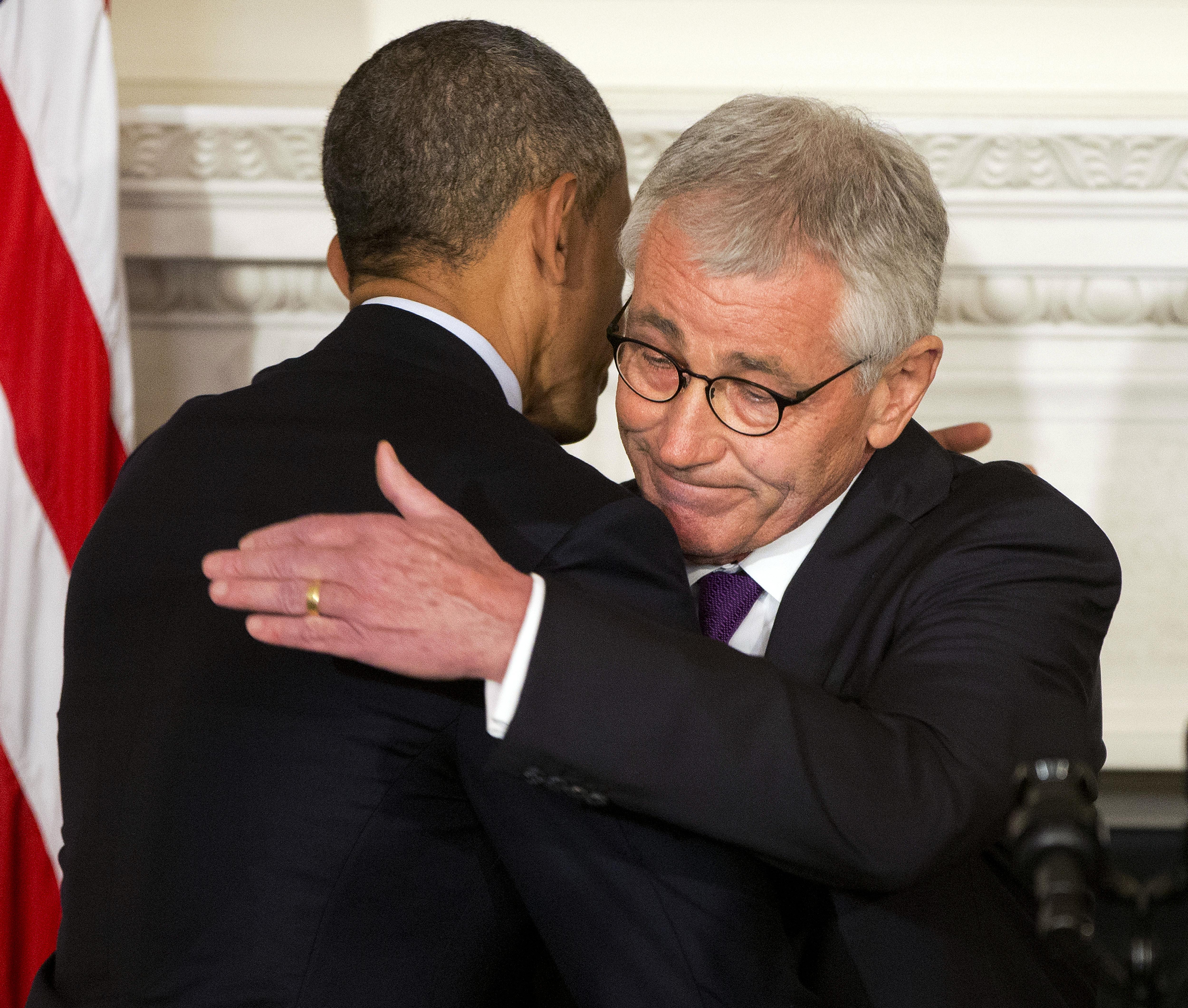 Barack Obama, Chuck Hagel